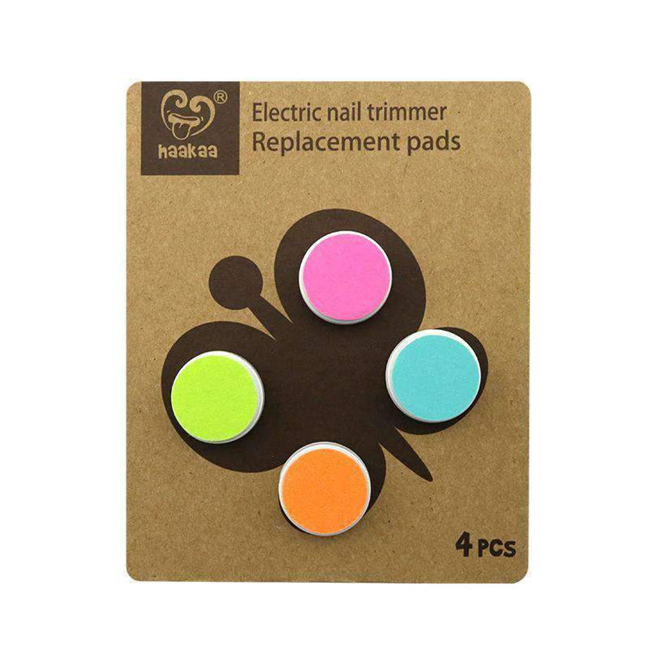 Haakaa Electric Nail Trimmer Replacement Pads at Baby Barn Discounts Haakaa nail trimmer replacement pads - 4 pads in total.