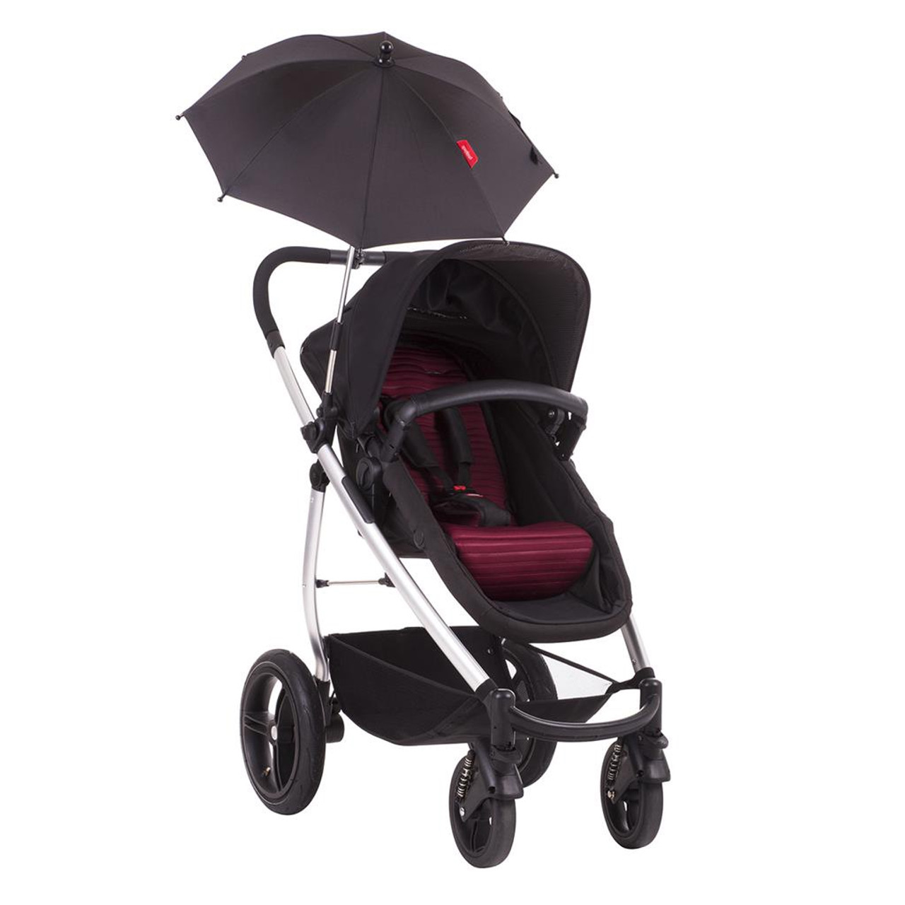 Phil & Teds Shade Stick Stroller Umbrella at Baby Barn Discounts parasol from Phil & Teds has a universal attachment compatible with any phil&teds stroller