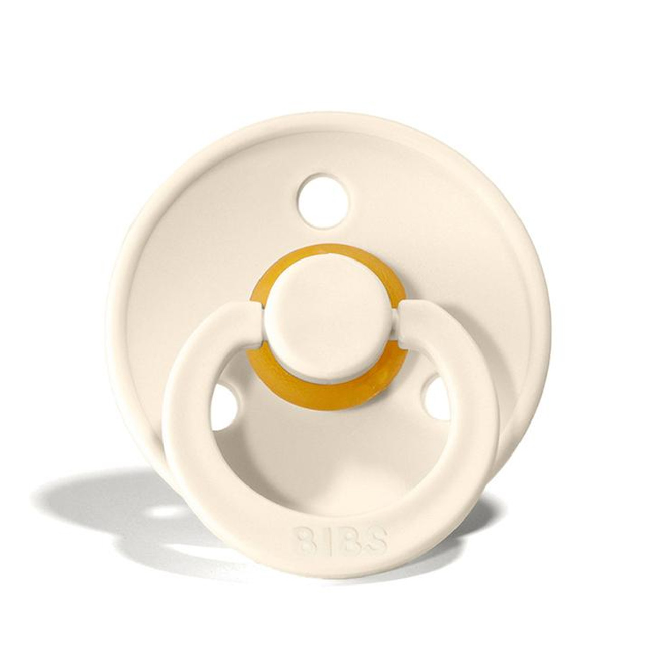 BIBS Colour Collection Pacifier- Size One at Baby Barn Discounts The Colour collection by BIBS is the perfect shape for babies mouth and features a comfortable shield and a beautiful array of colours. This lightweight pacifier is a wonderful baby accessory.