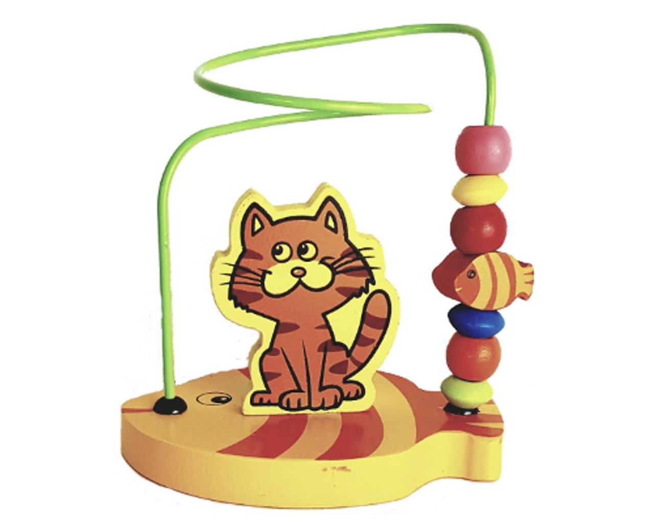 Lucky Tree- Mini Bead Maze at Baby Barn Discounts The Mini Bead Maze by Lucky Tree is the perfect toy for little ones just learning hand eye coordination and problem solving skills. Slide the beads from one side of the animal to the other.