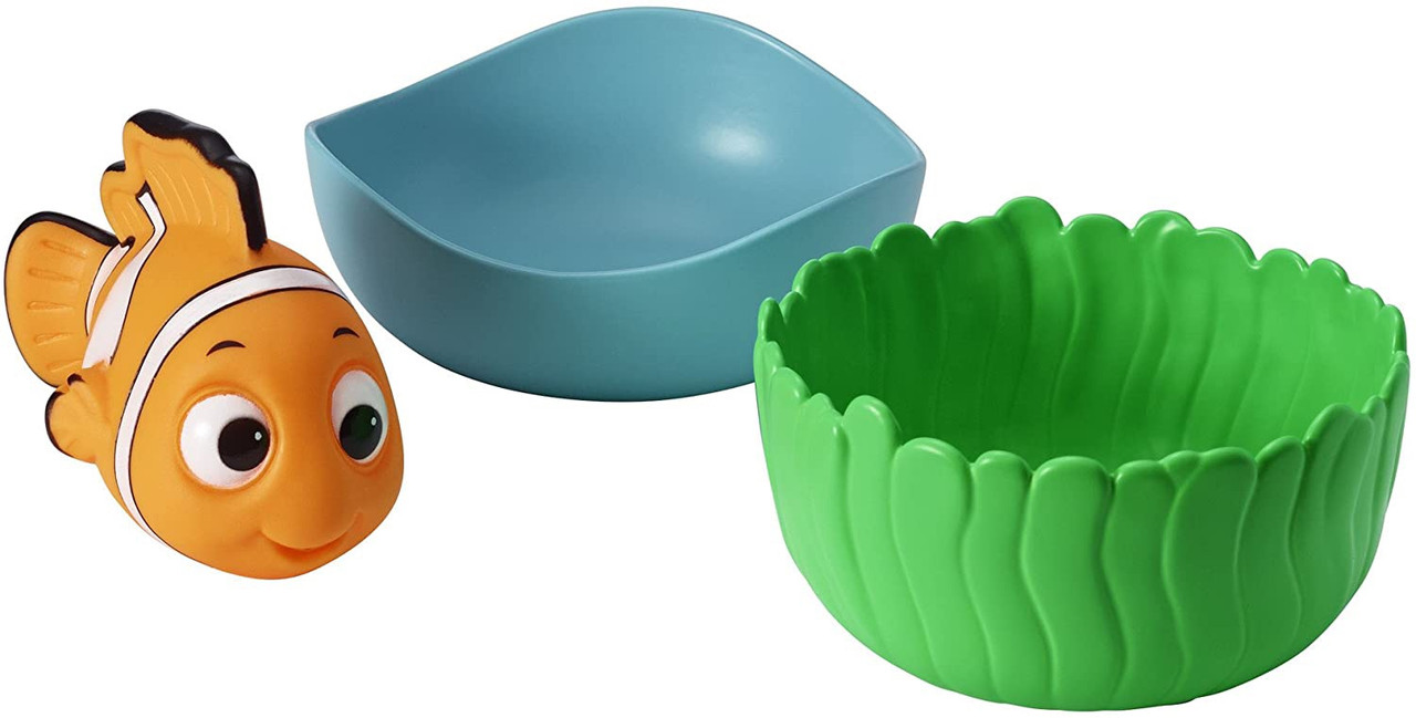 Disney Baby Nemo Nest & Pour Cups at Baby Barn Discounts Bring interactive play to bath time with the Disney Finding Nemo Nest and Pour Cups featuring the lovable fish Flounder!