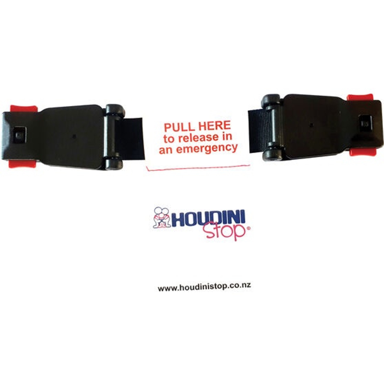 Houdini Stop Twin Pack New Design at Baby Barn Discounts Houdini Stop Chest Strap is a device which prevents your child from taking their arms out of their harnessing.