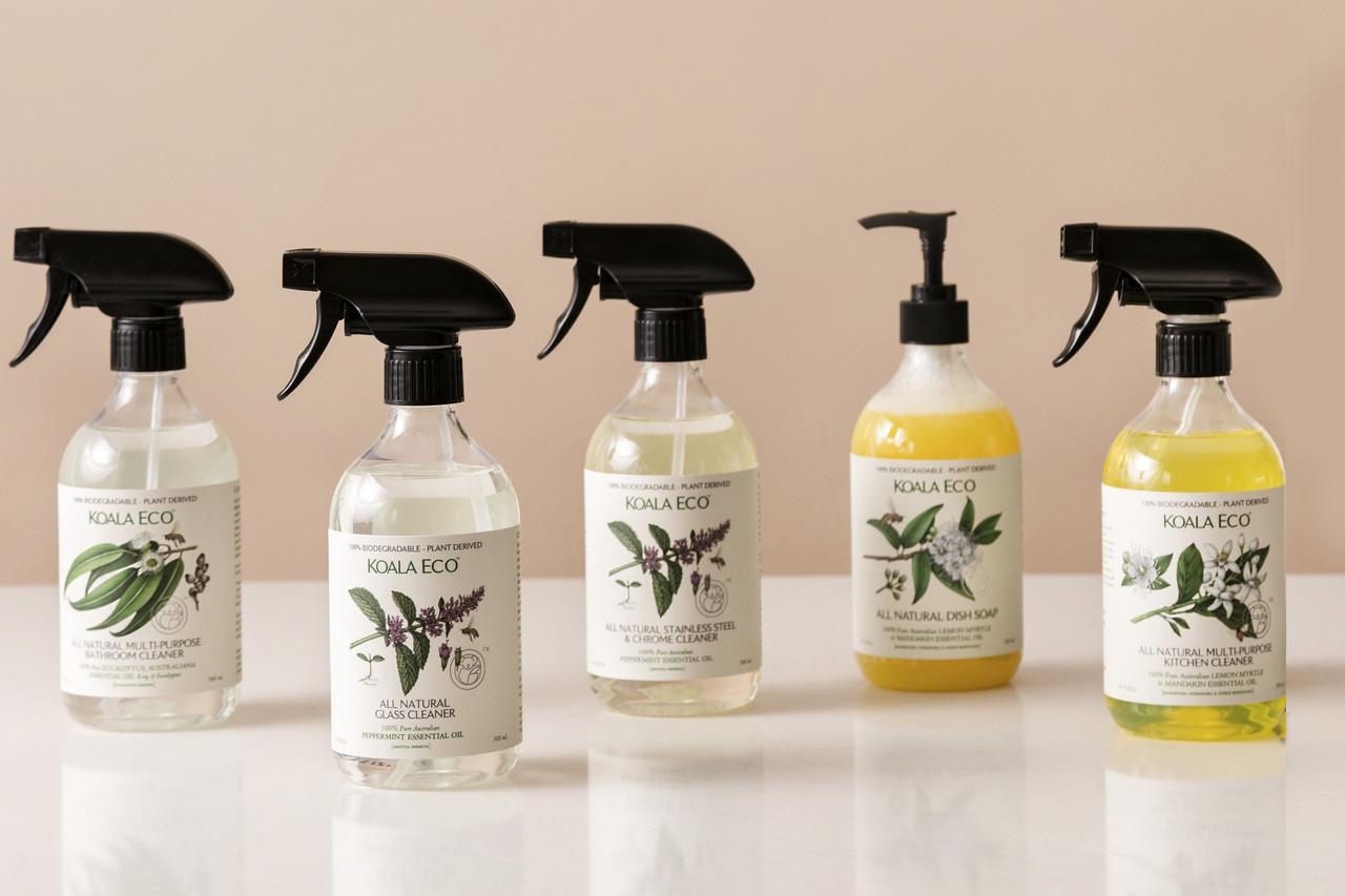 Koala Eco Floor Cleaner Mandarin & Peppermint 500ml | Baby Barn Discounts Koala Eco natural floor cleaner pack with Australian Mandarin & Peppermint scent.