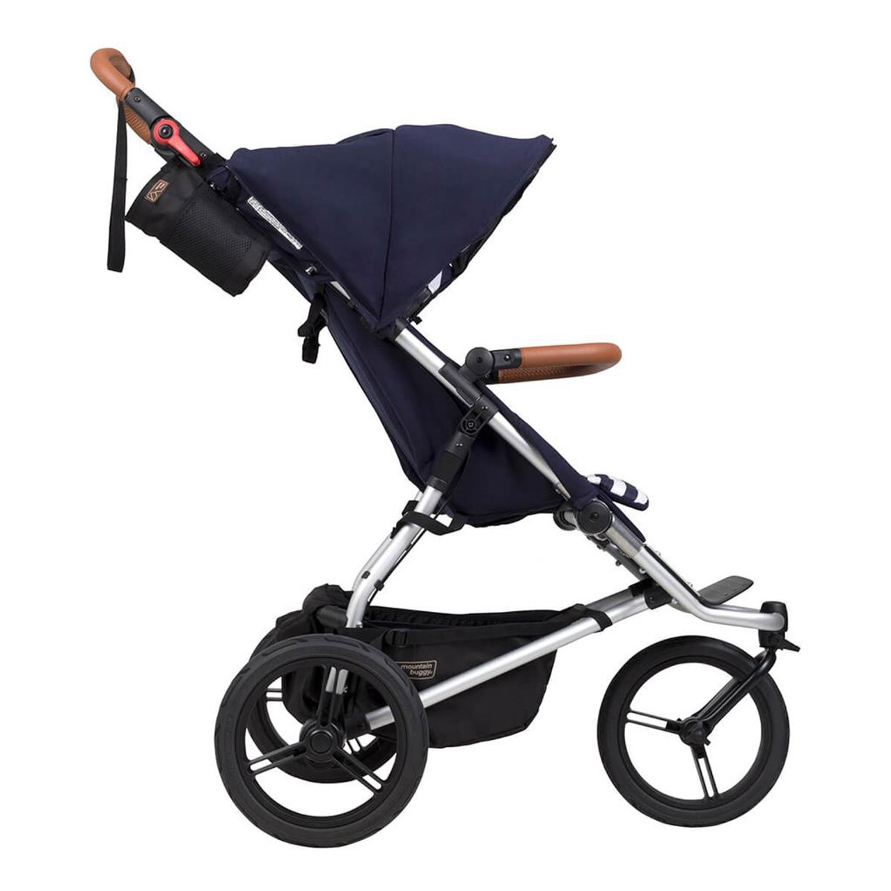 Mountain Buggy Urban Jungle Luxury Collection Nautical 2021 | Baby Barn Discounts Mountain Buggy luxury delivers refined aesthetics of hand-stitched leather accents.