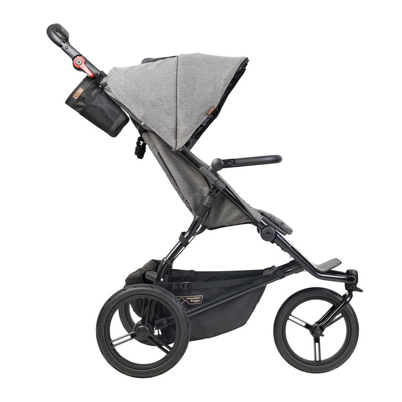 Mountain Buggy Urban Jungle Luxury Collection Herringbone | Baby Barn Discounts Mountain Buggy luxury delivers refined aesthetics of hand-stitched leather accents.