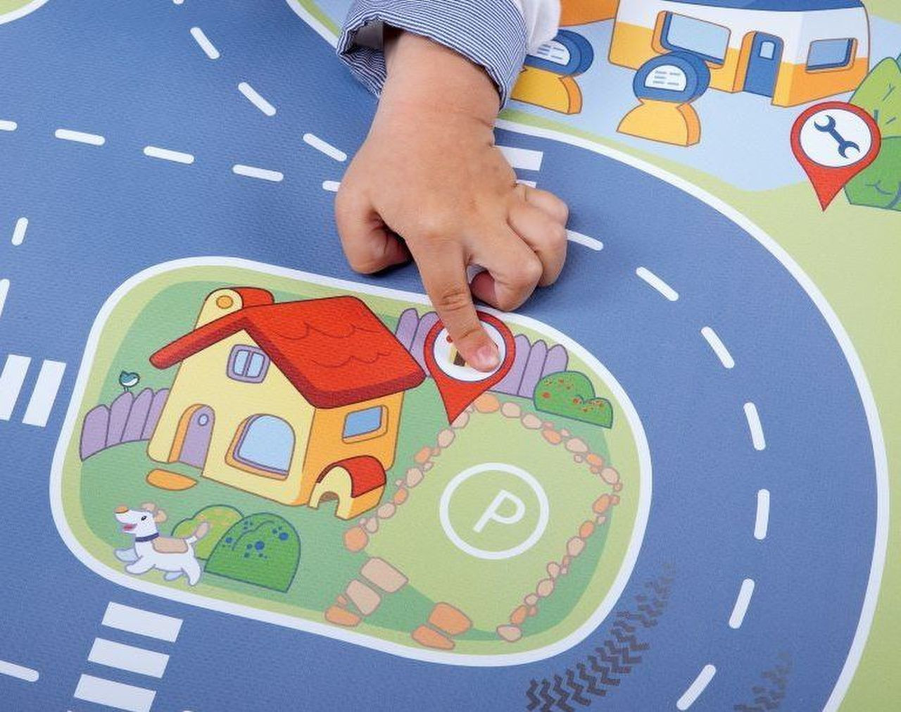 Chicco Electronic City Playmat 110 x 60 cm at Baby Barn Discounts