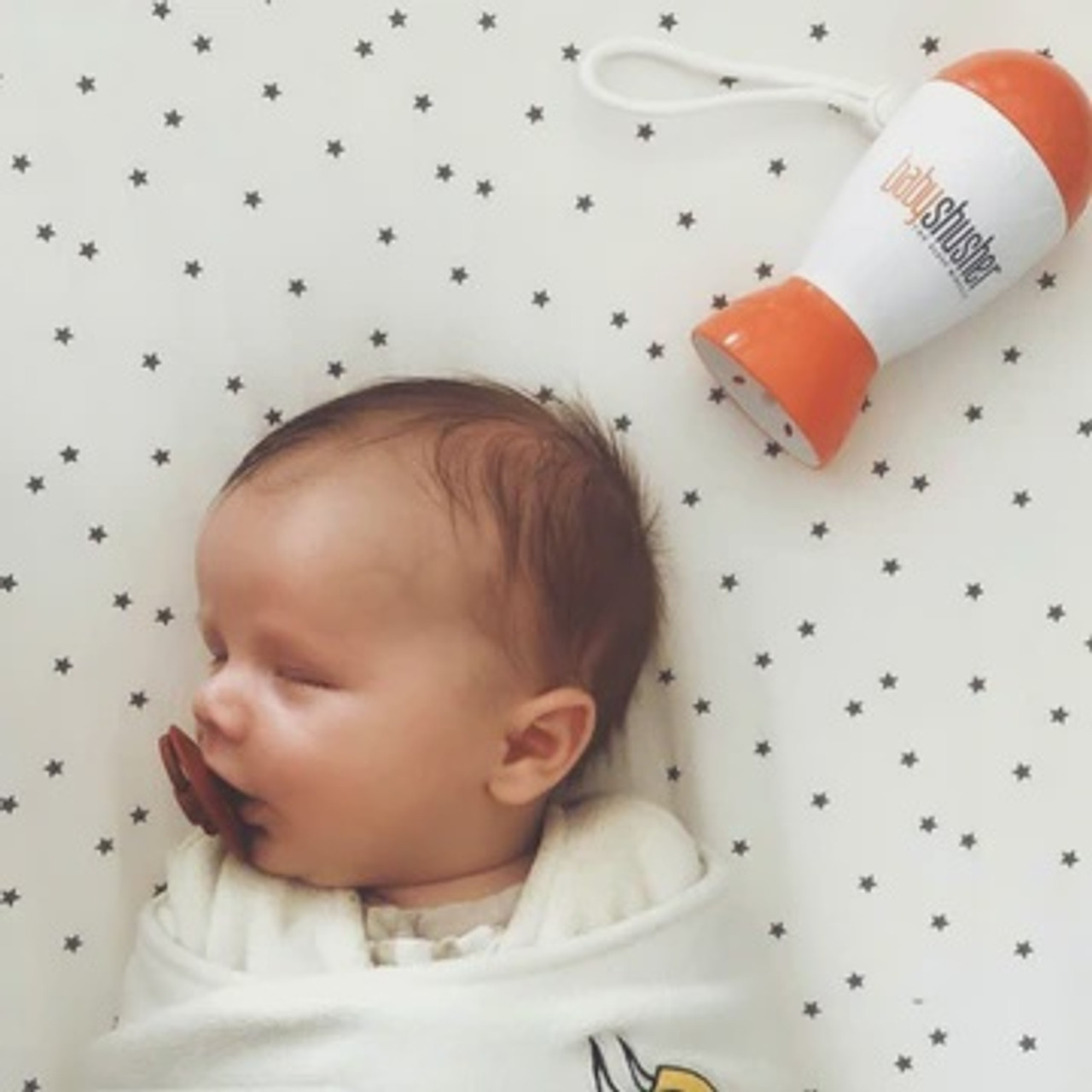 The Baby Shusher at Baby Barn Discounts The Baby Shusher™ is the award winning sleep product used by parents internationally. This fantastic little device soothes baby by breaking their crying spell and helping them engage their own natural calming reflex.