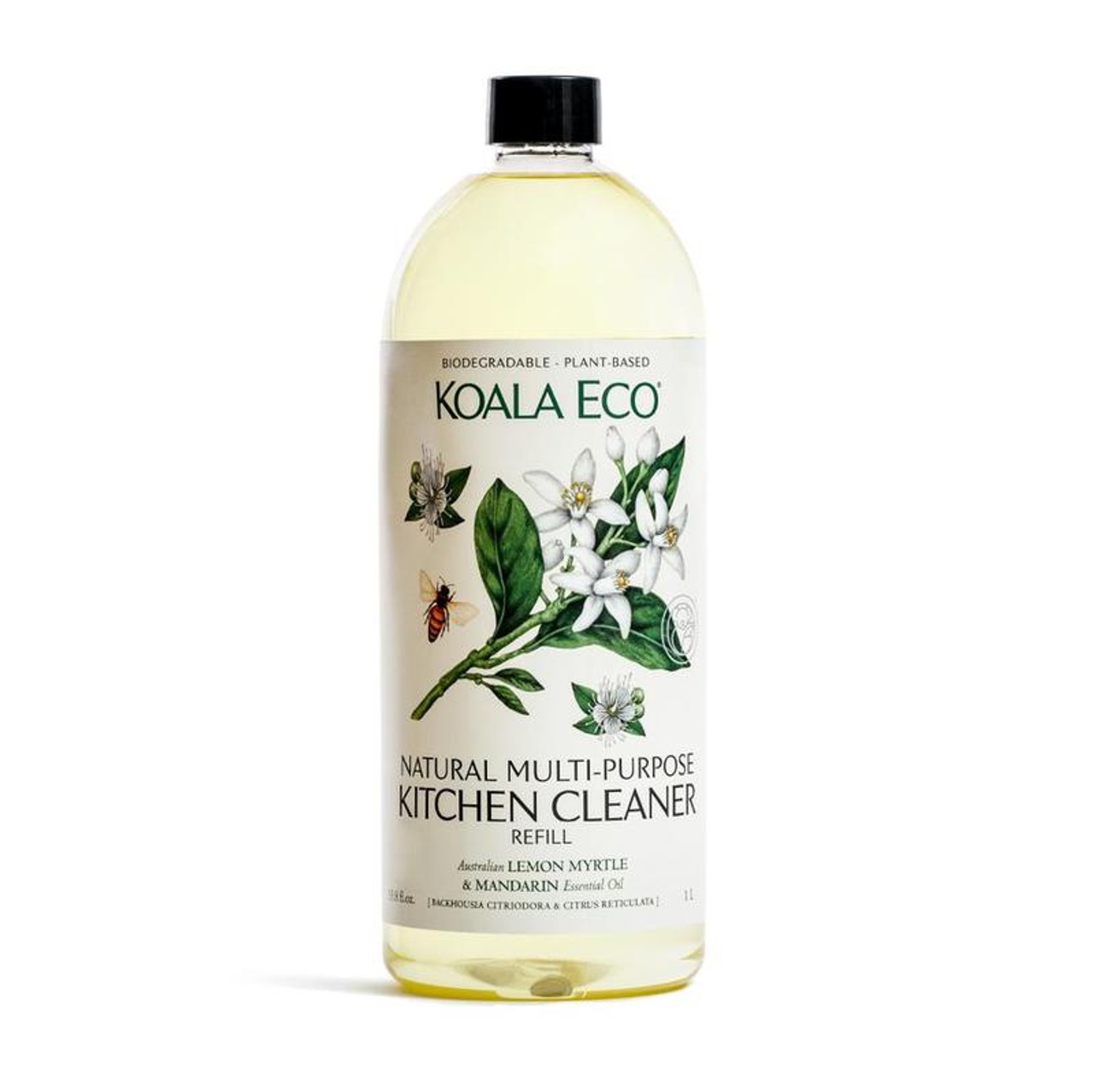 Koala Eco Natural Multi-Purpose Kitchen Cleaner Refill 1L at Baby Barn Discounts Koala Eco Lemon Myrtle & Mandarin Multi-Purpose Kitchen Cleaner is safe for refrigerator, dishwasher, microwave oven & etc.