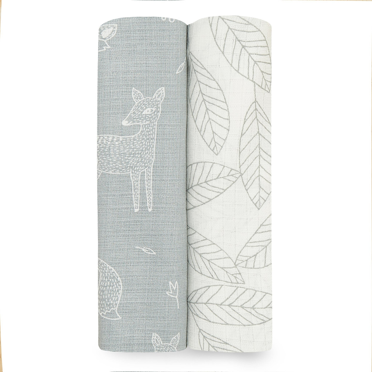 Aden + Anais Silky Soft Bamboo Muslin Swaddle 2 pack