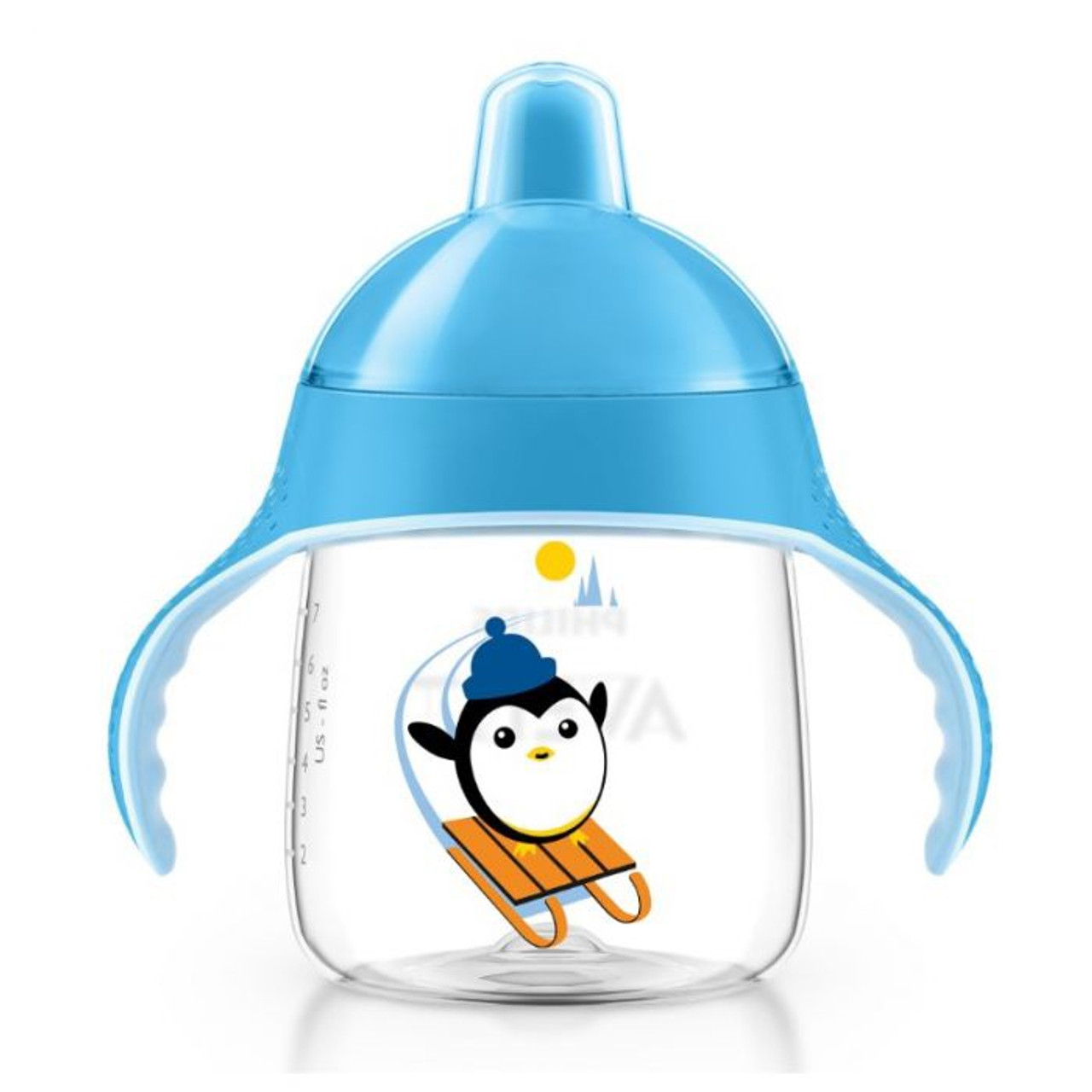 Avent Sip No Drip Spout Cup 260 ml 12 Months+ at Baby Barn Discounts Avent sip no drip transition cup is perfect for toddlers 12 months+.
