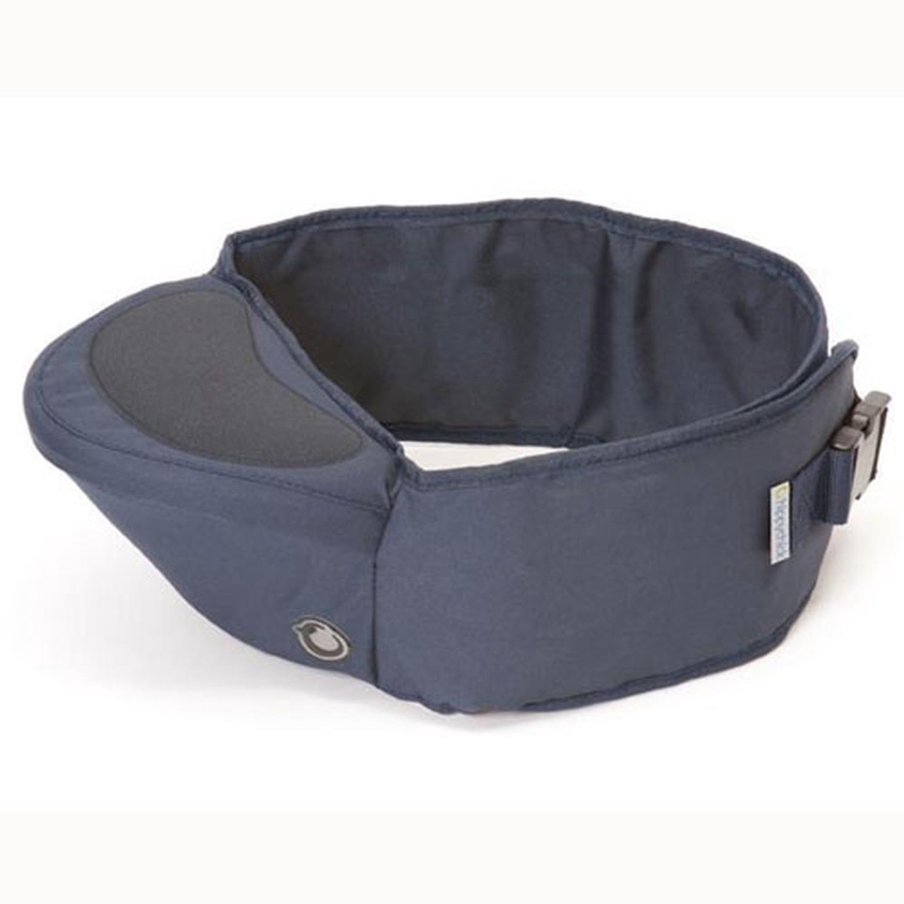 Hippychick Hipseat Denim at Baby Barn Discounts Hippychick Hipseat's back supporting belt design is perfect for carrying children between 6 - 36 months.