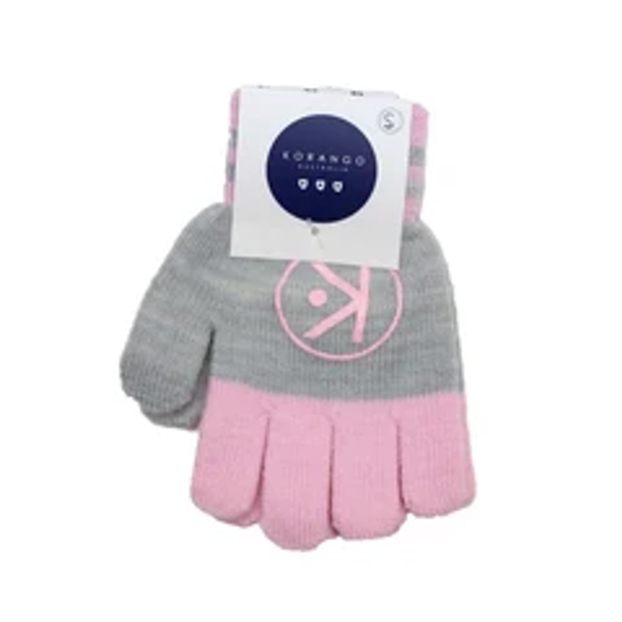 Korango Essential Gloves Pink/Grey at Baby Barn Discounts Soft and cosy to keep little fingers warm. These gloves by Korango are the perfect winter accessory for your little one.