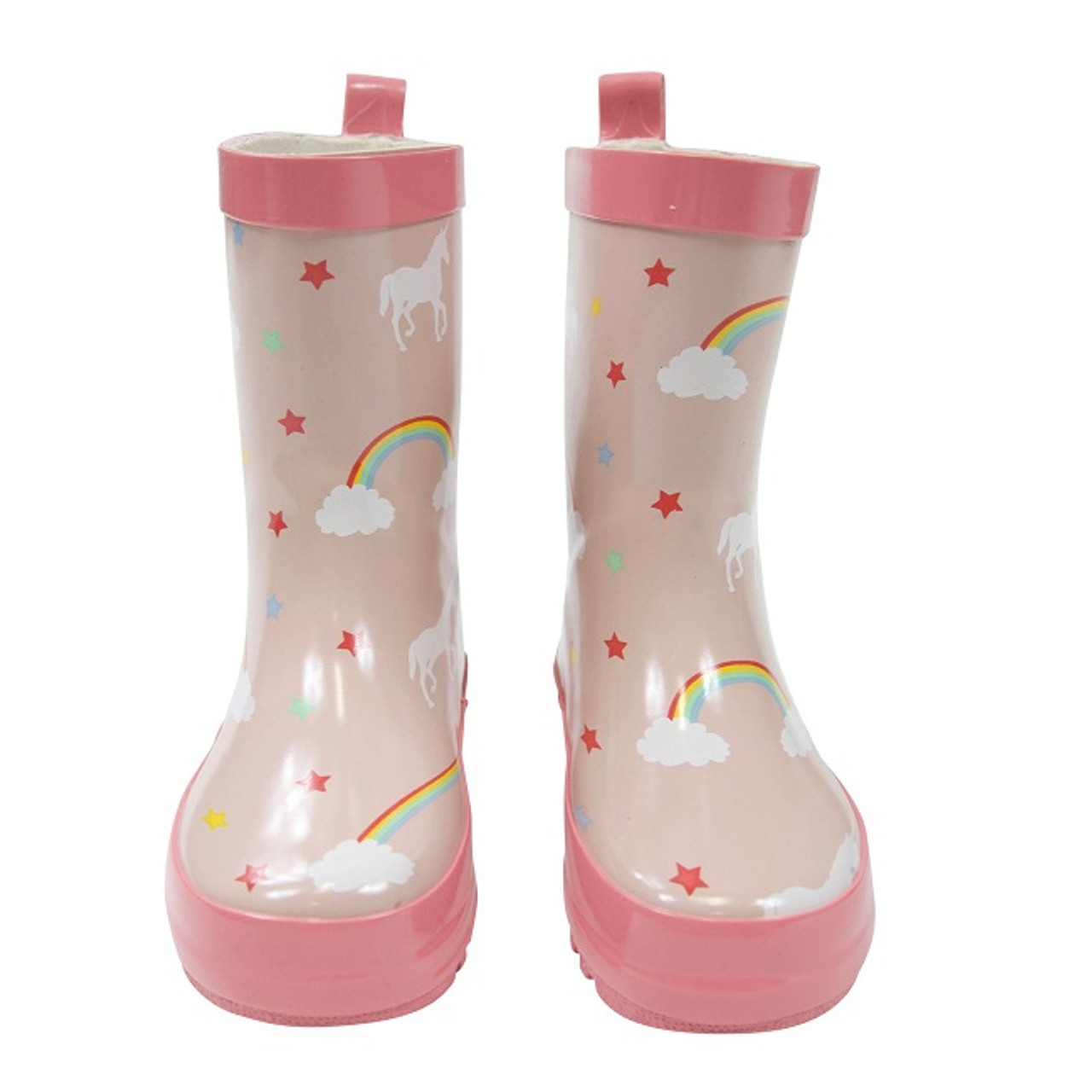 Korango Rainwear Gumboot - Unicorn at Baby Barn Discounts Perfect for outings on wet and rainy days. These waterproof and durable gumboots are fantastic addition to any rainy day outfit.