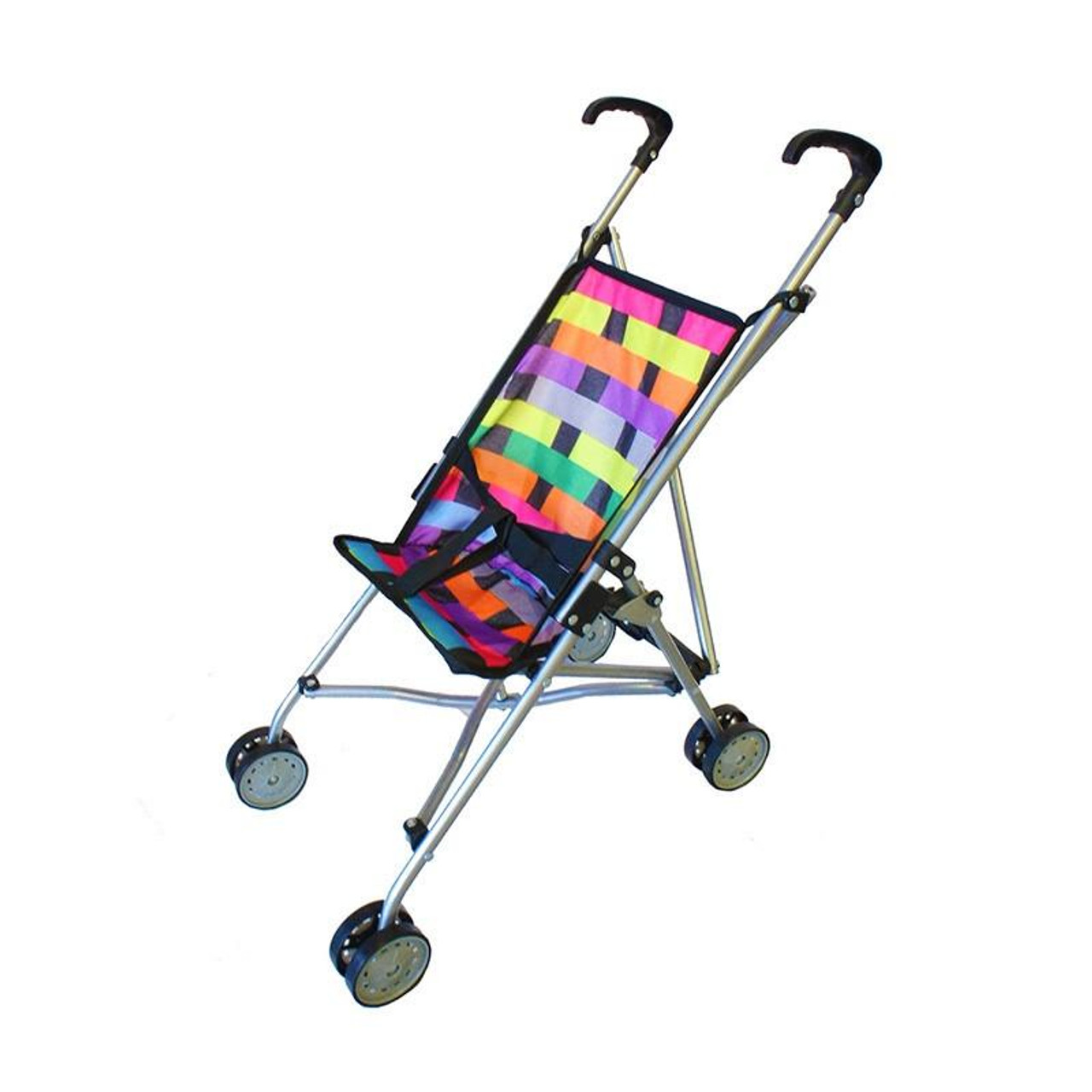 La Belle Lattice Doll Stroller at Baby Barn Discounts Stroll with your dolls in style with this light weight, portable and foldable stroller. Perfect for taking baby dolls on the go.