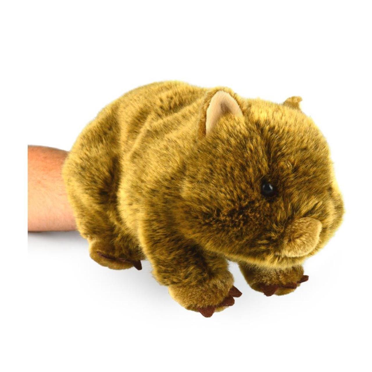 Korimco Wildlife Body Puppet 32cm WOMBAT at Baby Barn Discounts