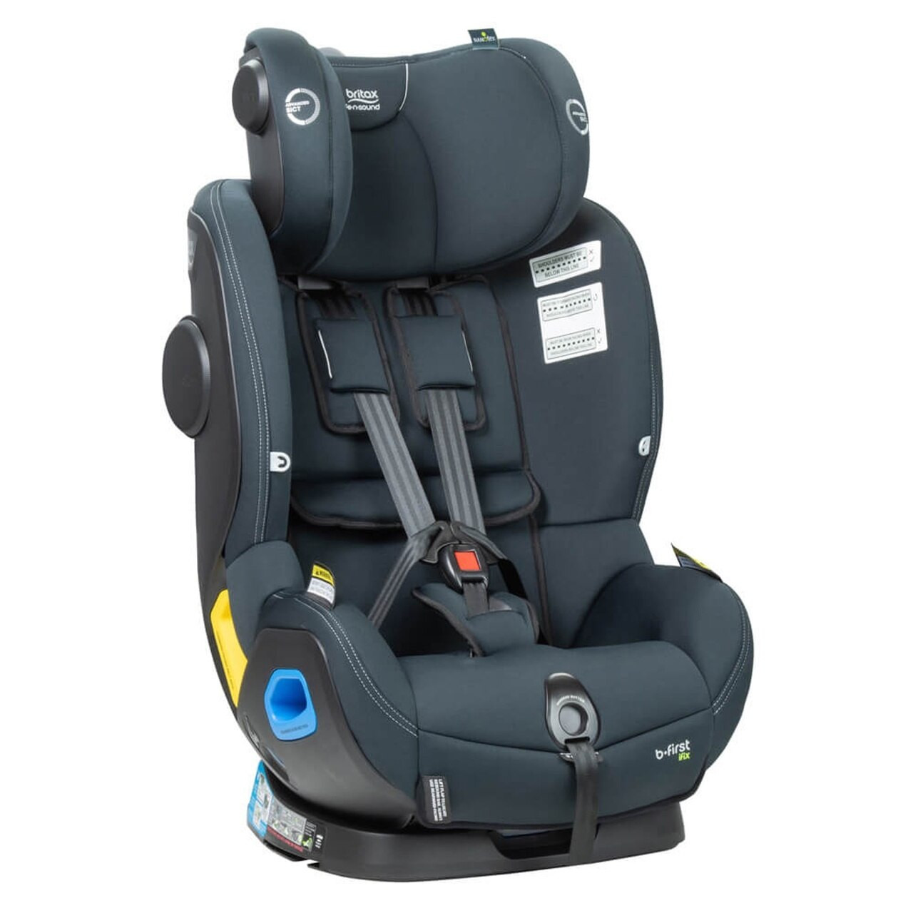 britax safe n sound b first ifix easy installation with thermo5 high performance fabric