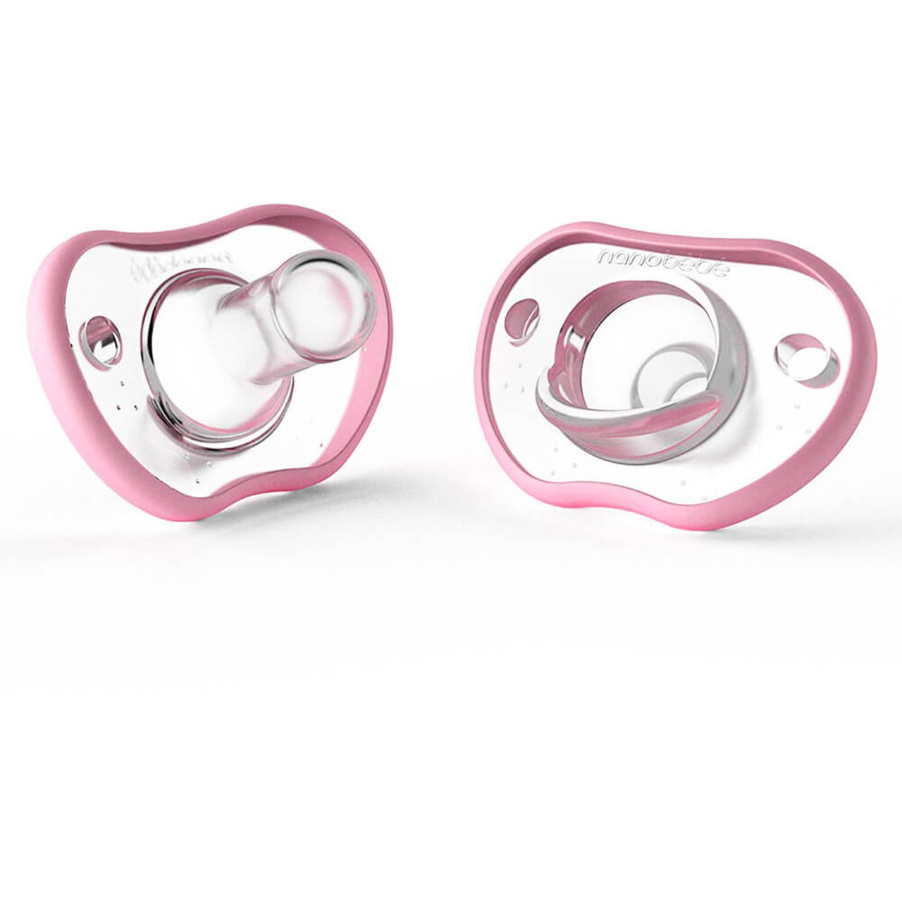 Nanobebe Flexy Pacifier 0-3m 2pk at Baby Barn Discounts Nanobébé's Flexy pacifier will calm and soothe your newborn from their very first day.