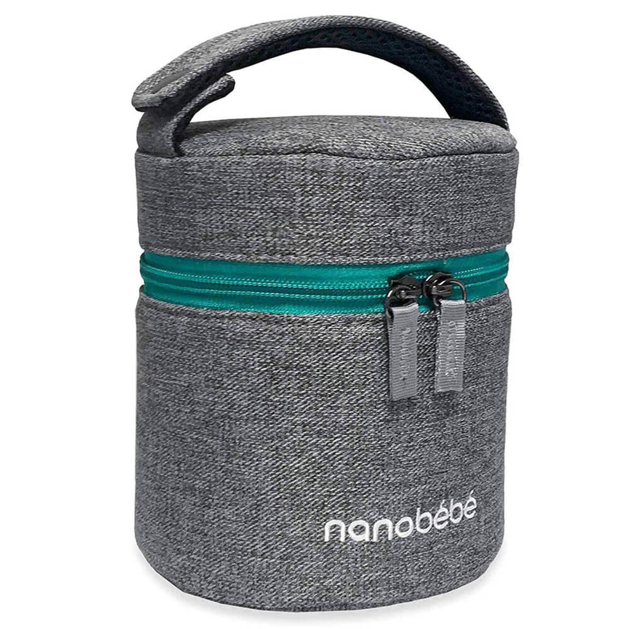Nanobebe Bottle Cooler and Travel Pack at Baby Barn Discounts Nanobébé stylish, soft-to-the-touch baby bottle carrier makes your daily routine smoother.