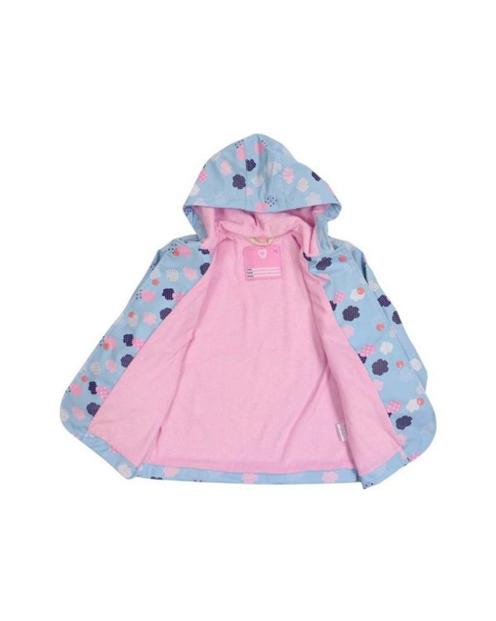 Korango Raincoat 4 Years at Baby Barn Discounts Beautifully designed, bright & fun raincoat from Korango. Perfect for rainy cold days. Waterproof on the outside with soft terry towelling lining for comfort.