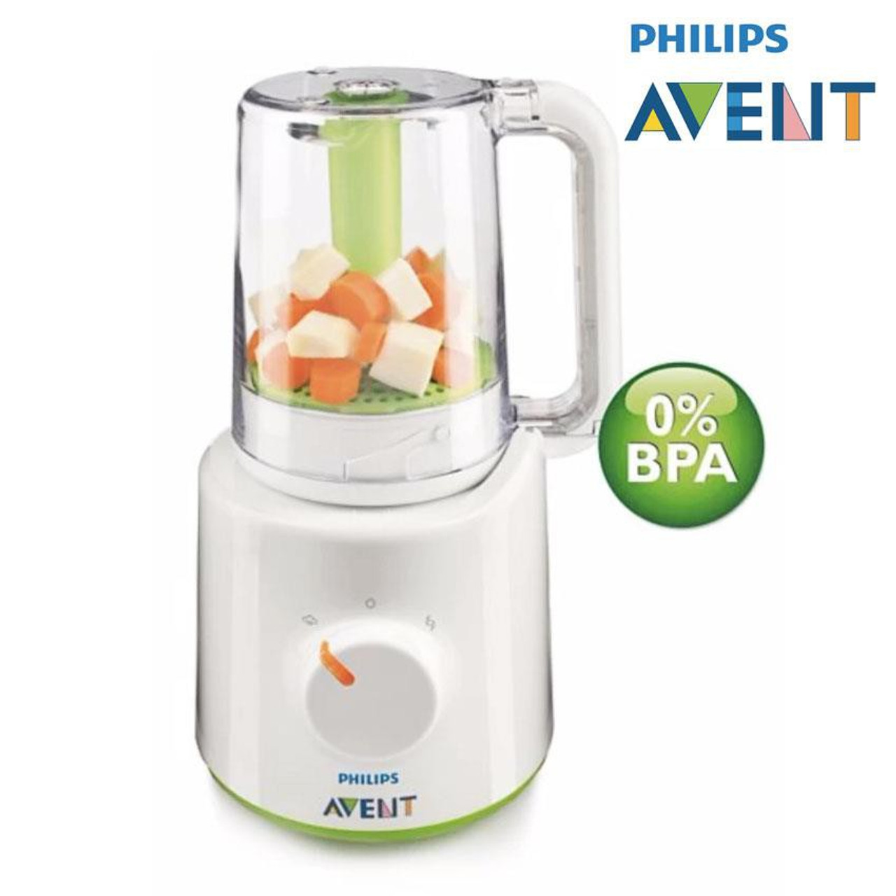 Avent 2 in 1 Healthy Baby Food Maker at Baby Barn Discounts Easily prepare nutritious, homemade baby meals with Philips Avent 2-in-1 healthy baby food maker.