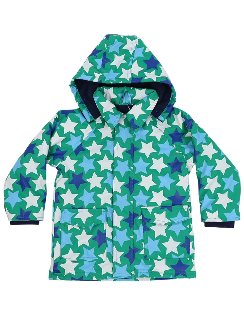 Korango Raincoat 5 Years at Baby Barn Discounts Beautifully designed, bright & fun raincoat from Korango. Perfect for rainy cold days. Waterproof on the outside with soft fleece lining for comfort.