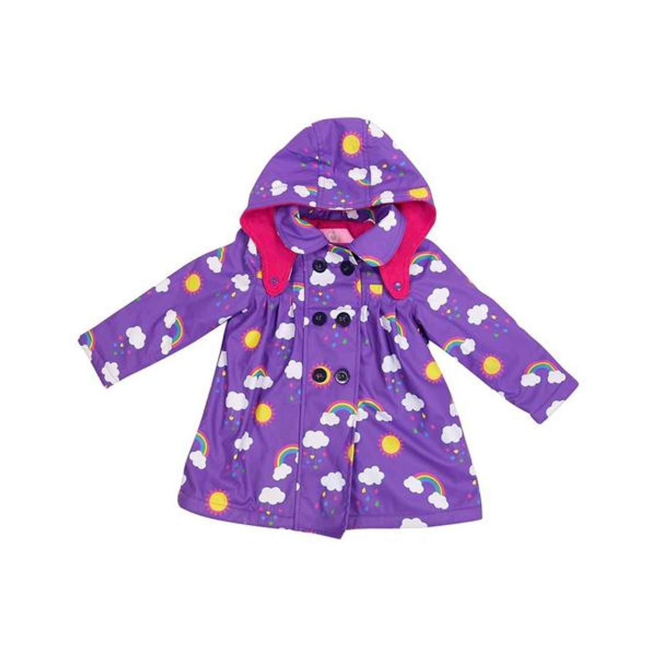 Korango Raincoat 6 Years Polar Fleece Lined at Baby Barn Discounts Beautifully designed, bright & fun raincoat from Korango. Perfect for rainy cold days. Waterproof on the outside with soft fleece lining for comfort.