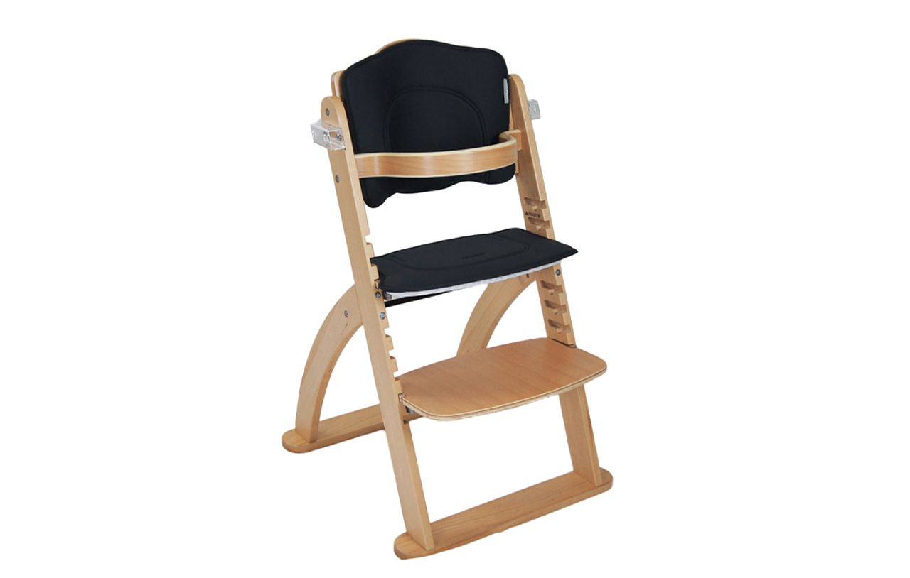 Babyhood Kaylula Ava Forever Highchair - Beech at Baby Barn Discounts A stylish modern scandi inspired chair that is strong and made from European beechwood, so it grows and grows – up to 45 kgs.