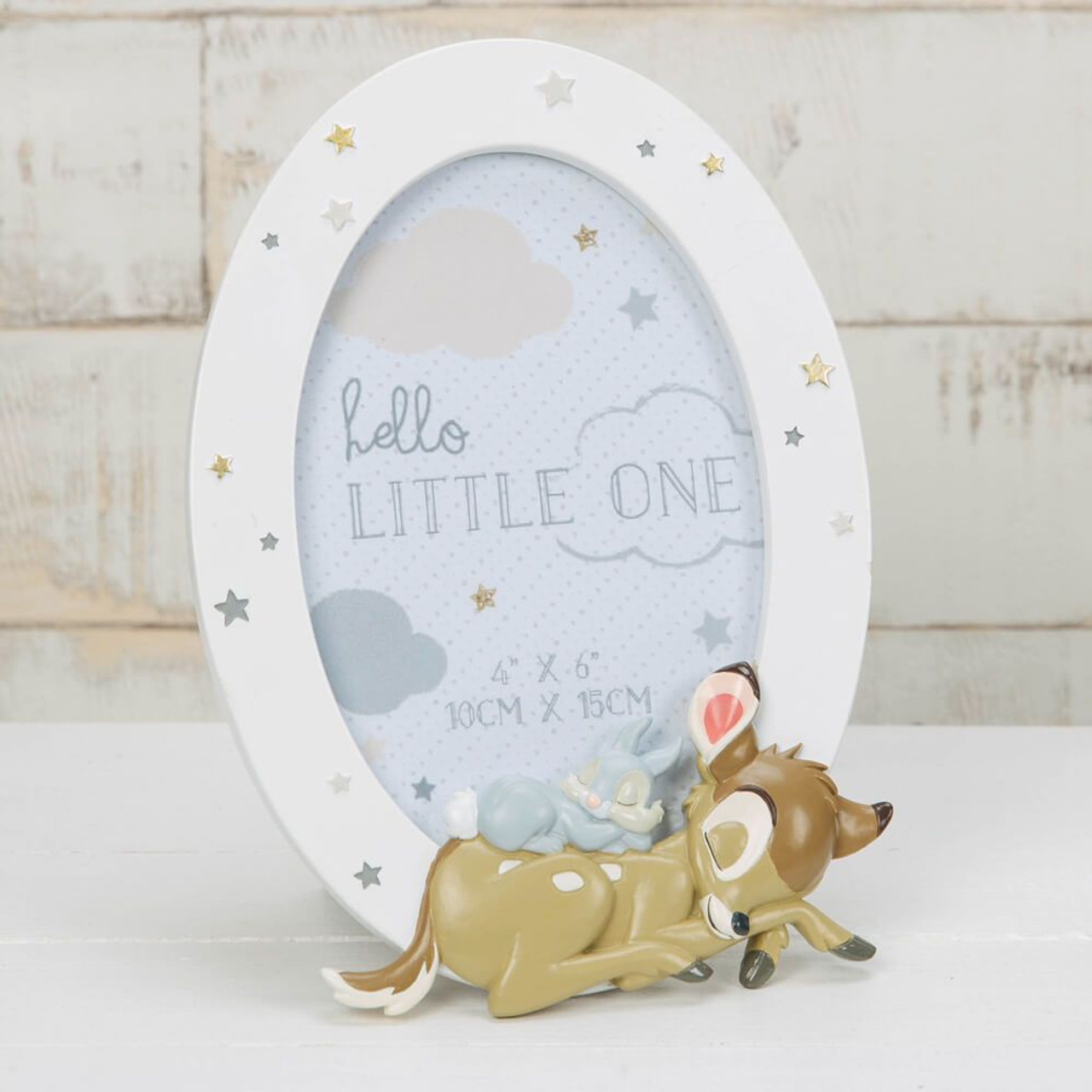 Disney Baby Magical Beginnings Bambi Photo Frame at Baby Barn Discounts Welcome a newborn to the world with a commemorative photo.