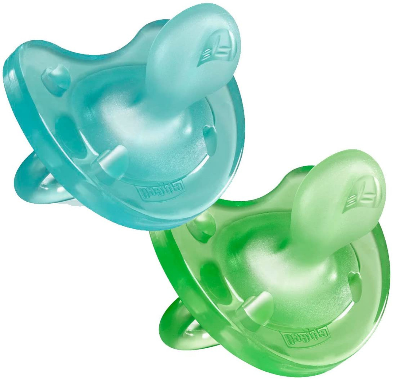 Chicco Physio Soft Soother 2pk 6-16 Months at Baby Barn Discounts Encourage the formation of the correct breathing techniques, and mouth positioning with the Chicco Physio Soft Soother.  100% Silicone and clinically tested to stimulate optimal mouth development.