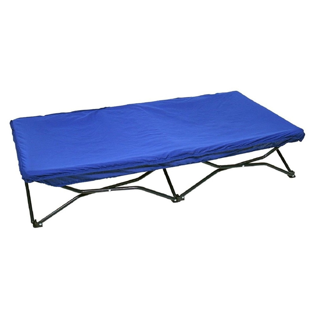 Regalo My Cot Portable Toddler Bed also includes a deluxe, fitted cot cover which protects bed and frame whilst providing cushioned comfort.