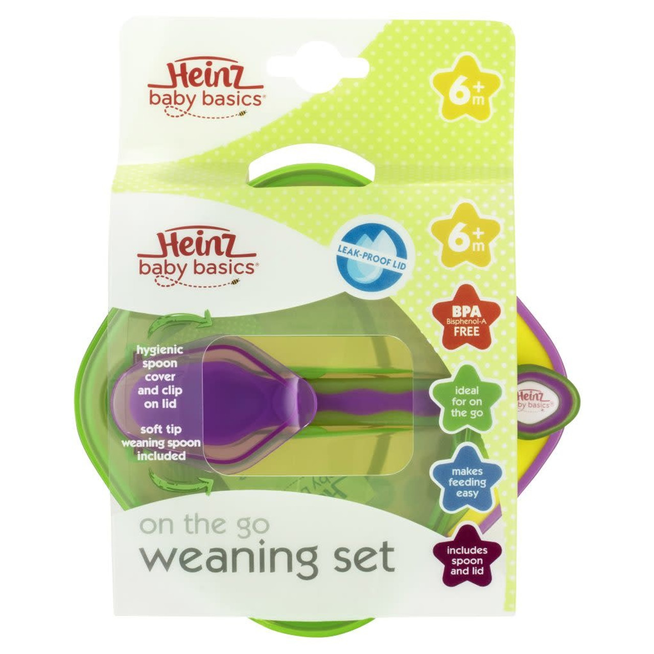 Heinz Baby Basic Weaning Bowl at Baby Barn Discounts For feeding at home or on the go makes easier with Heinz weaning bowl.