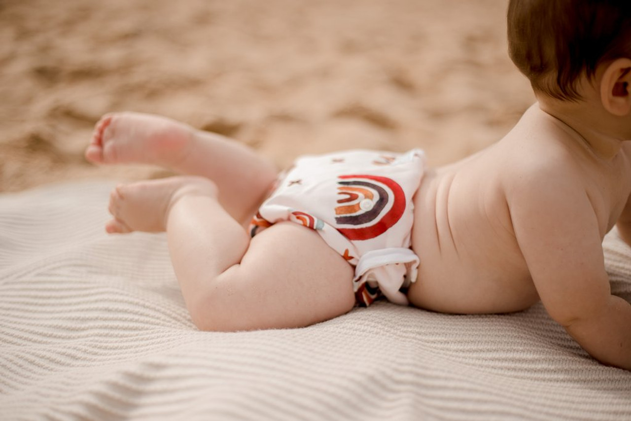 My Little Gumnut Swimming Nappy at Baby Barn Discounts Australian designed comfortable toddler swimming nappy.