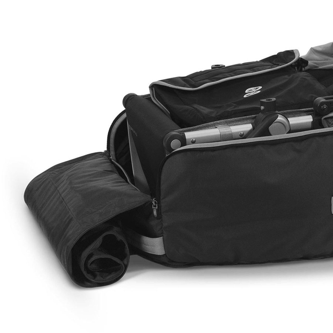 UPPAbaby Travel Bag VISTA/VISTA V2, CRUZ/CRUZ V2 at Baby Barn Discounts Pack up your stroller and travel with ease! The UPPAbaby Travel Bag and TravelSafe Program insures your stroller for air travel.