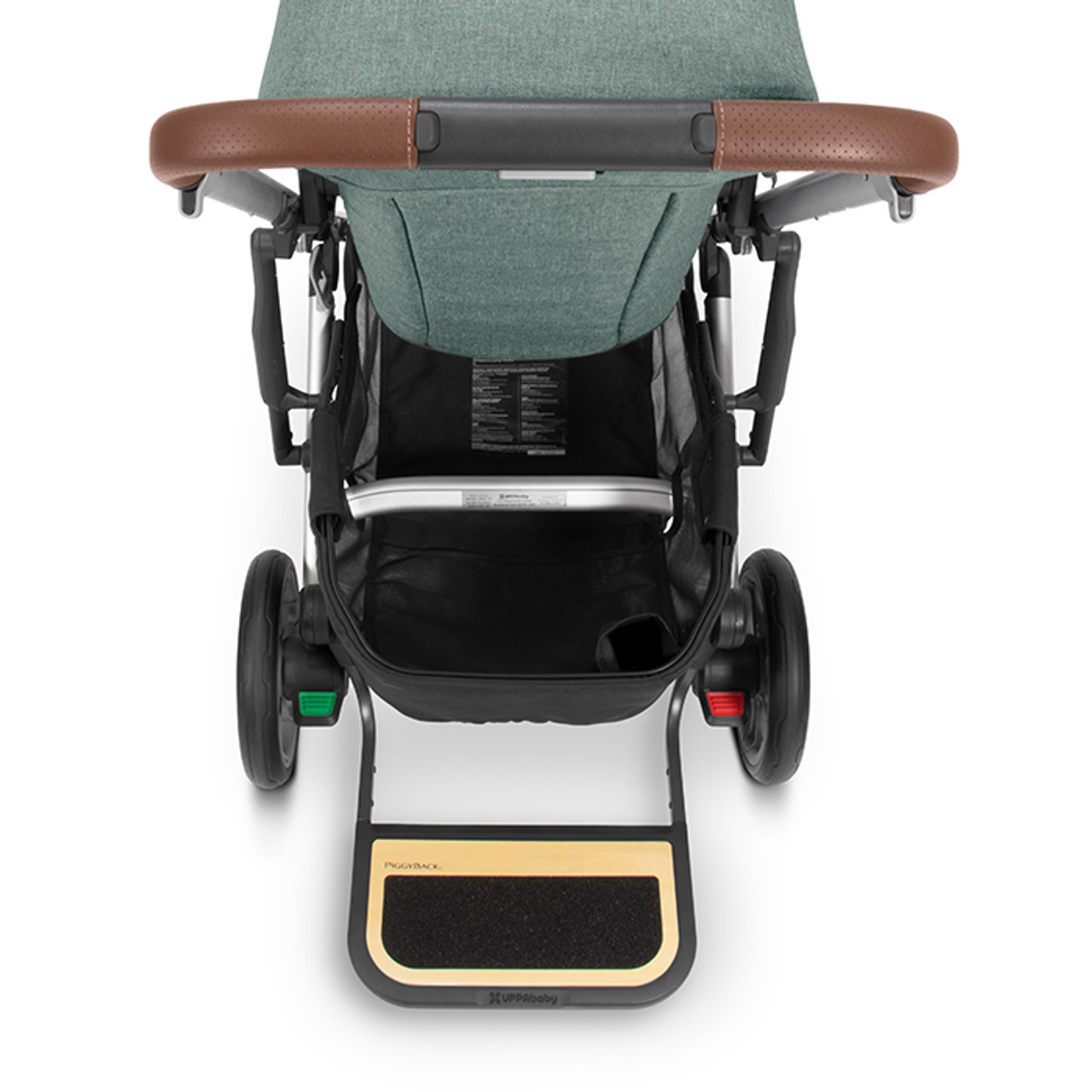 UPPAbaby CRUZ V2 PiggyBack Ride-Along Board at Baby Barn Discounts The PiggyBack attaches easily to your pram, allowing your little one to hitch a ride when they get tired.