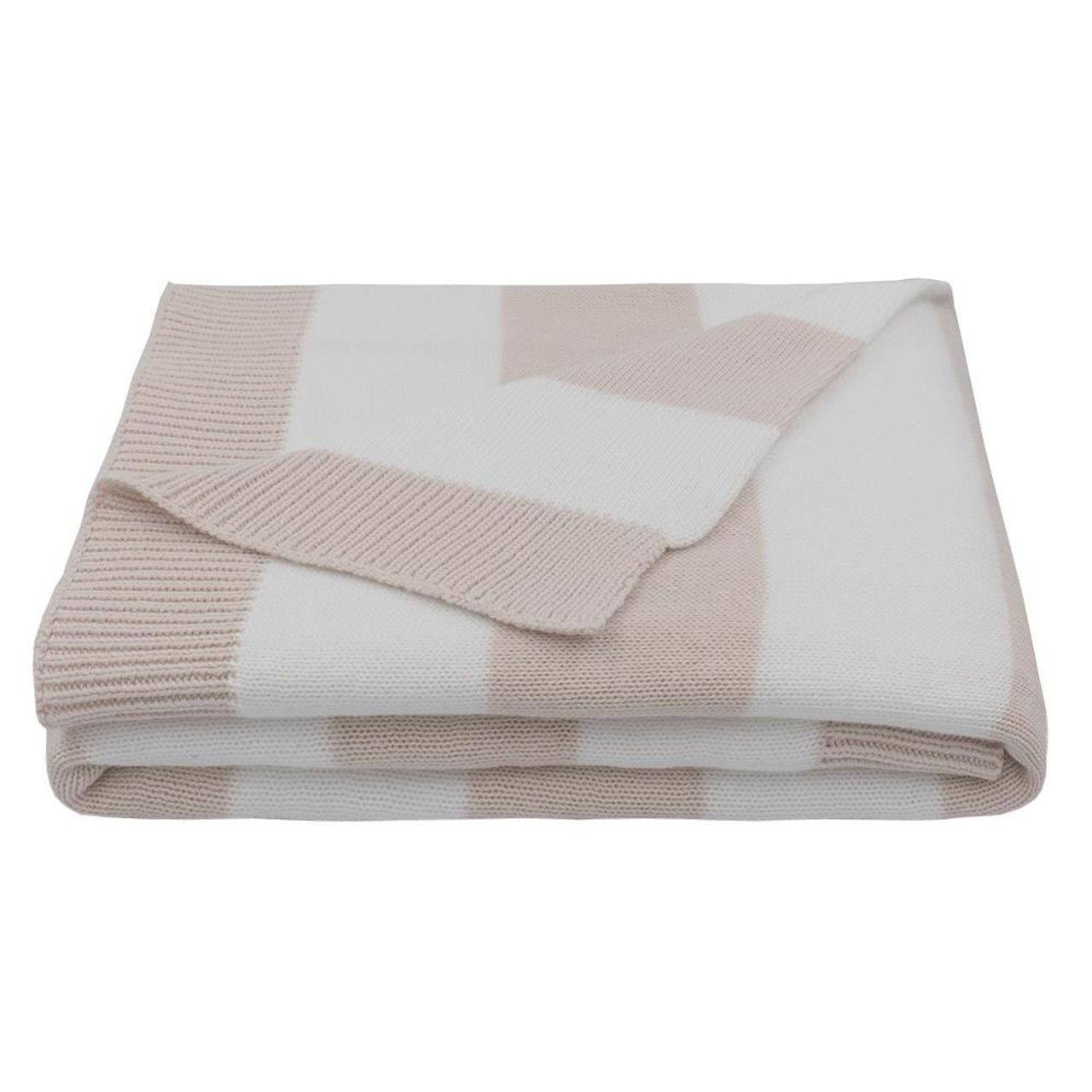 Living Textiles Cotton Knit Pram Striped Blanket at Baby Barn Discounts The stylish and functional and made from 100% cotton, this blanket and designed to be the perfect baby essential