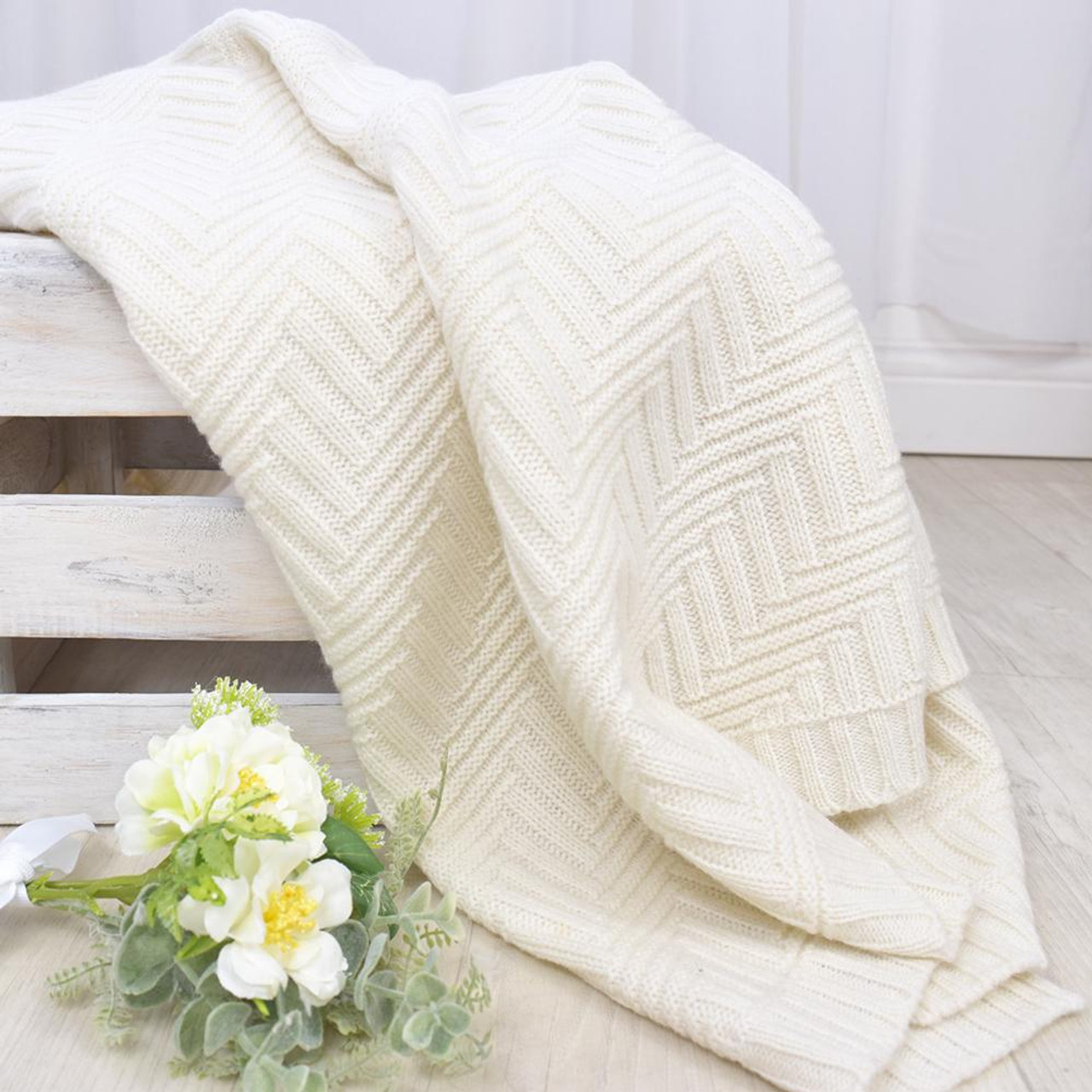 Living Textiles Merino Wool Pram Blanket at Baby Barn Discounts A luxurious addition to any nursery. Made from lush 100% Australian Merino wool, this lightweight blanket is perfectly sized for your pram or bassinet.