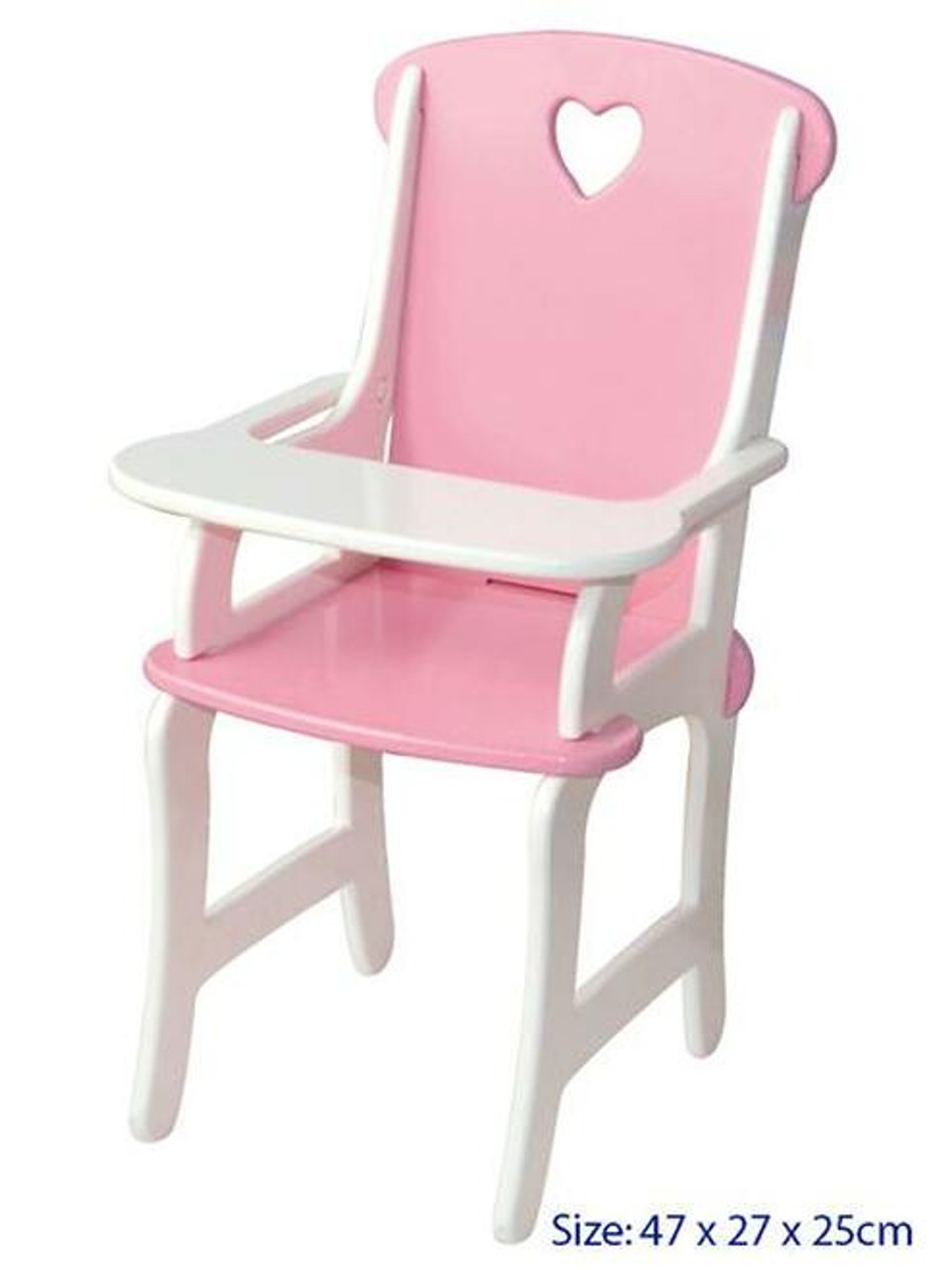 Fun Factory Wooden Doll High Chair at Baby Barn Discounts Feeding time is made fun and easy with this delightful pink doll high chair from Fun Factory.