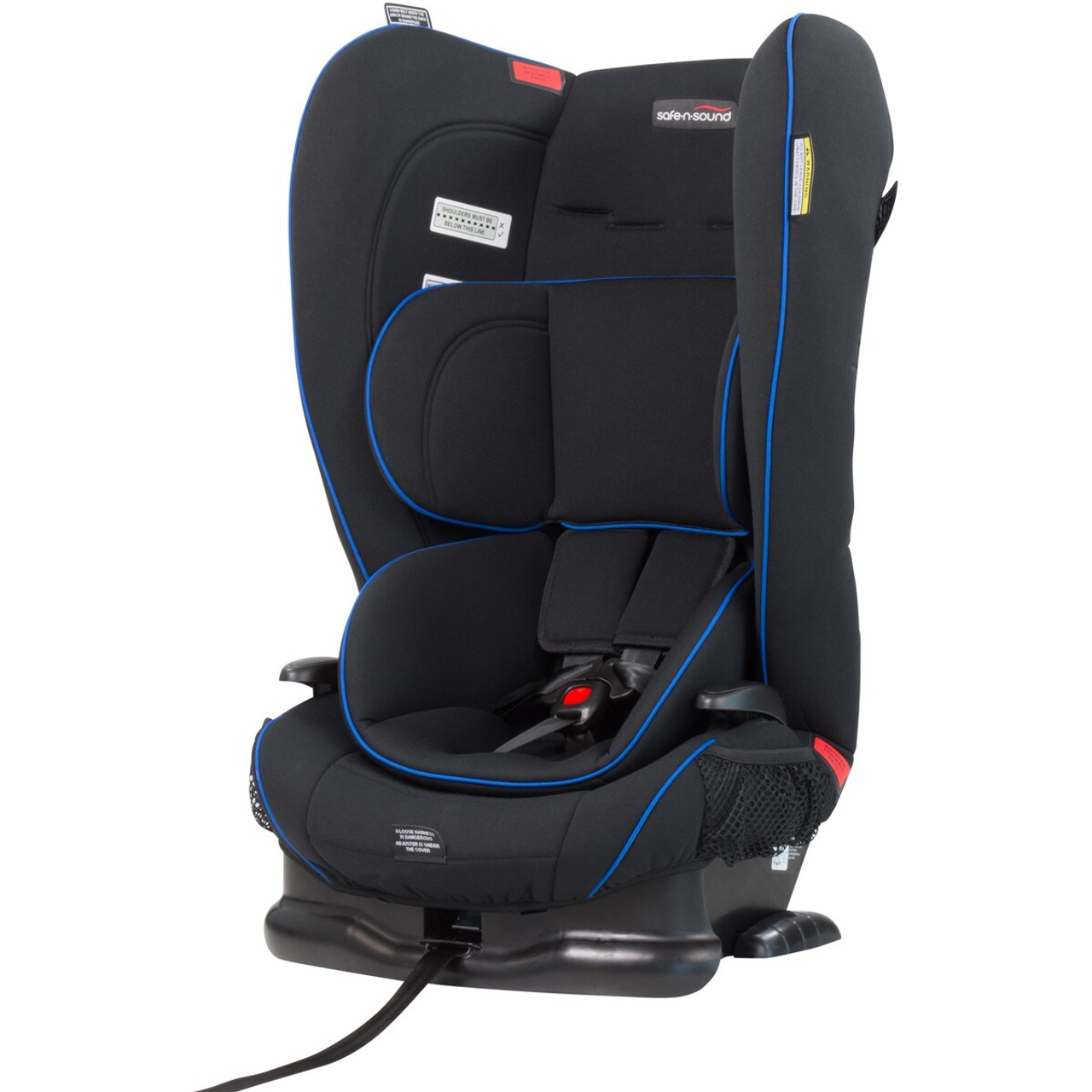 Safe N Sound Novus II Harnessed Booster at Baby Barn Discounts Safe N Sound Novus II provides your child the security of an internal harness and then convert the seat into a Booster as they grow.