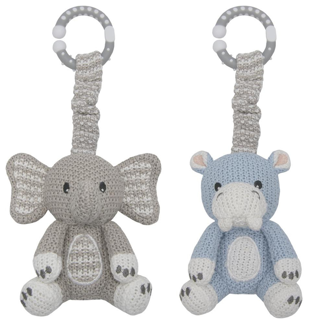 Living Textiles 2pk Stroller Toy at Baby Barn Discounts Living Textiles knitted pram toys are versatile to be hung on either prams , playgym or carseats.