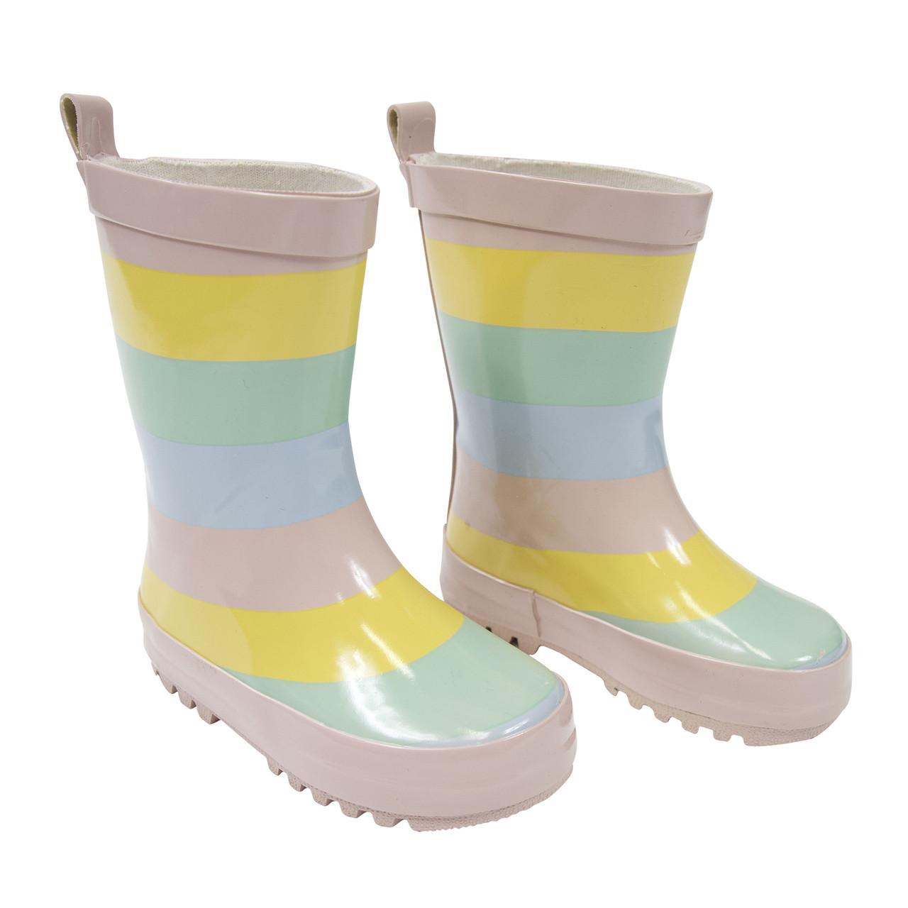 Korango Rainwear Gumboot - Girl Striped at Baby Barn Discounts Korango cute stylish design rainboot perfect for rainy weather.