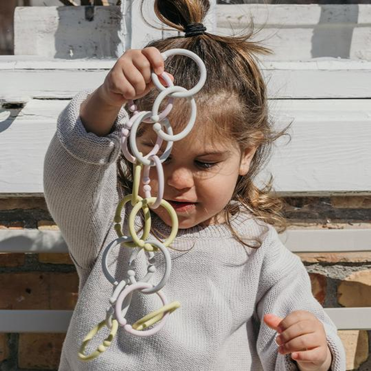 BIBS Loops 12 Pack at Baby Barn Discounts The ultimate multipurpose product. Use them to keep track of the little stuff so you don't have to. Loops entertain little ones and help with their growth and development.