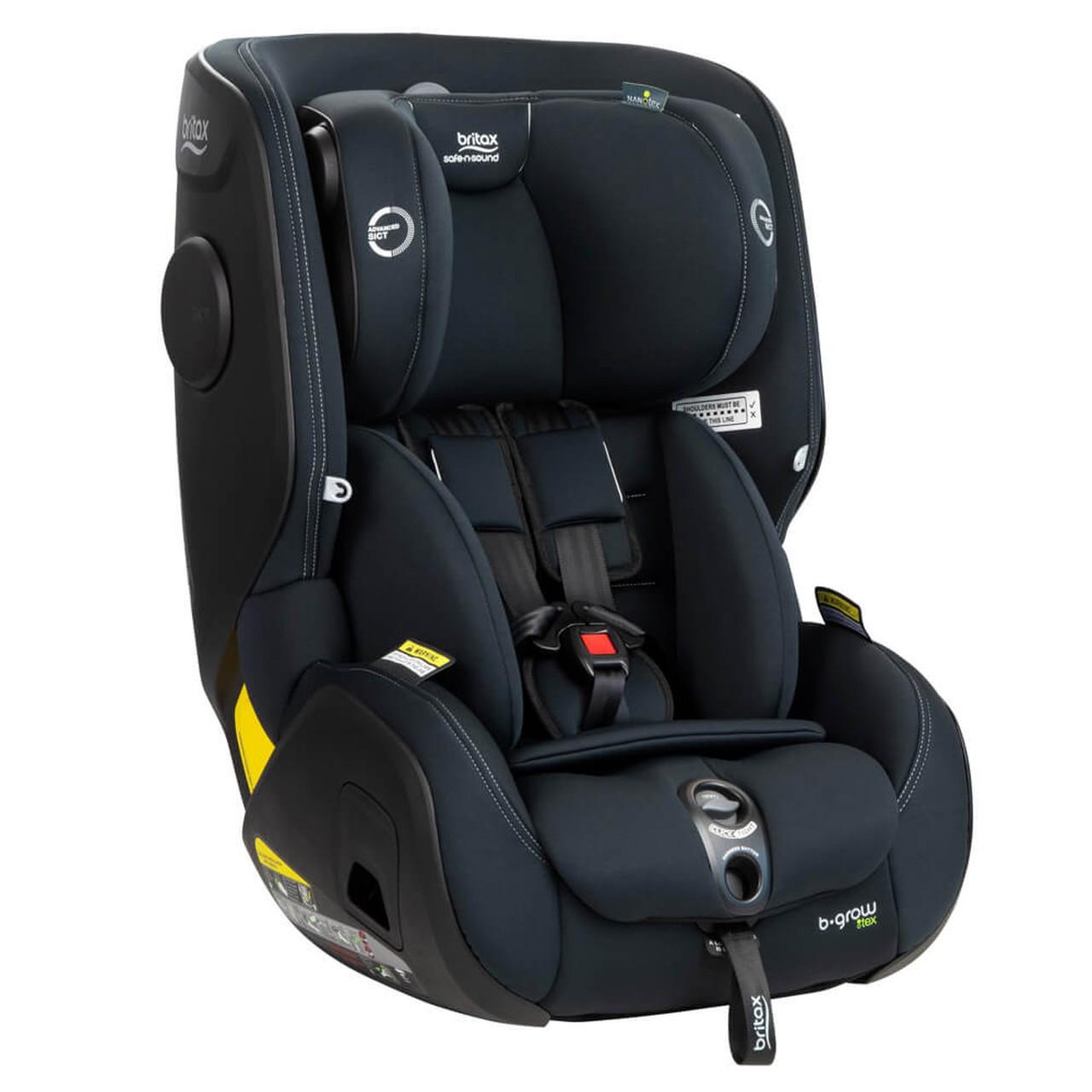 b grow click tight car seat