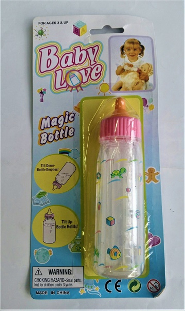 Baby Love Magic Doll Bottle at Baby Barn Discounts Young children will definitely love 'feeding' their dolls with this Baby Love doll magic bottle!