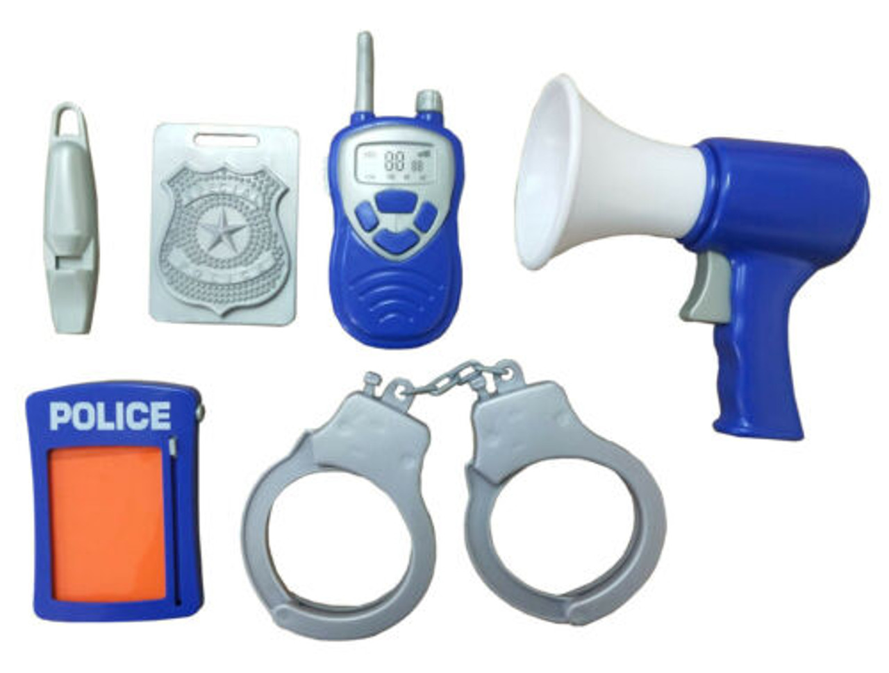 Deluxe Police Kit In Case at Baby Barn Discounts Does your little one love fighting crime and restoring justice? This police kit is the perfect addition to any crime fighters costume box!