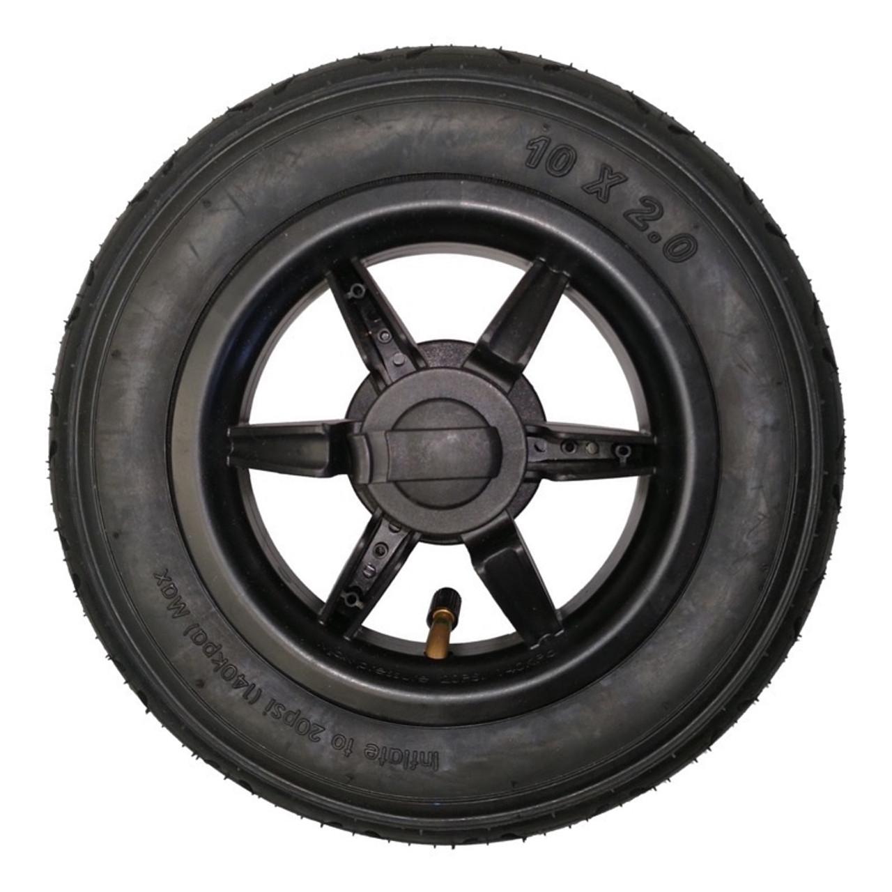 "Mountain Buggy 10"" Complete Rear Wheel (2010-2014 models)"