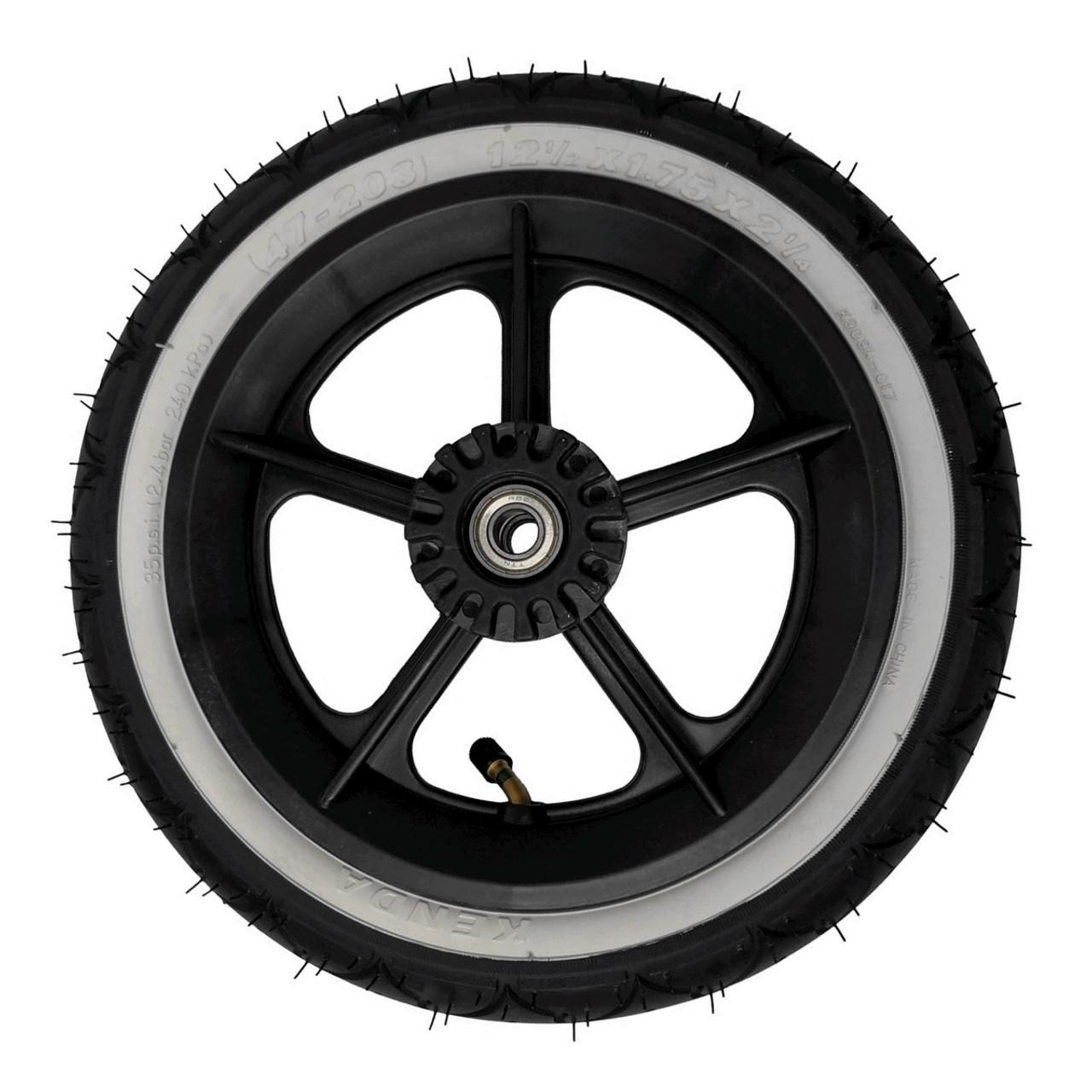 Phil&Teds Wheel- Complete Rear Wheel fits Navigator, Sport,Classic, Hammerhead and Explorer