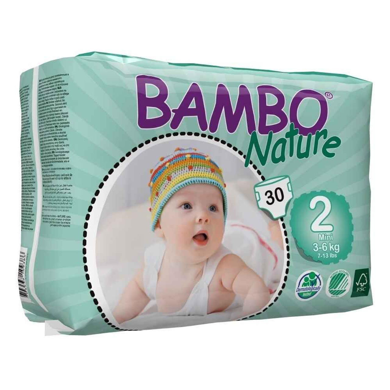 Bambo Nature nappies are absorbent