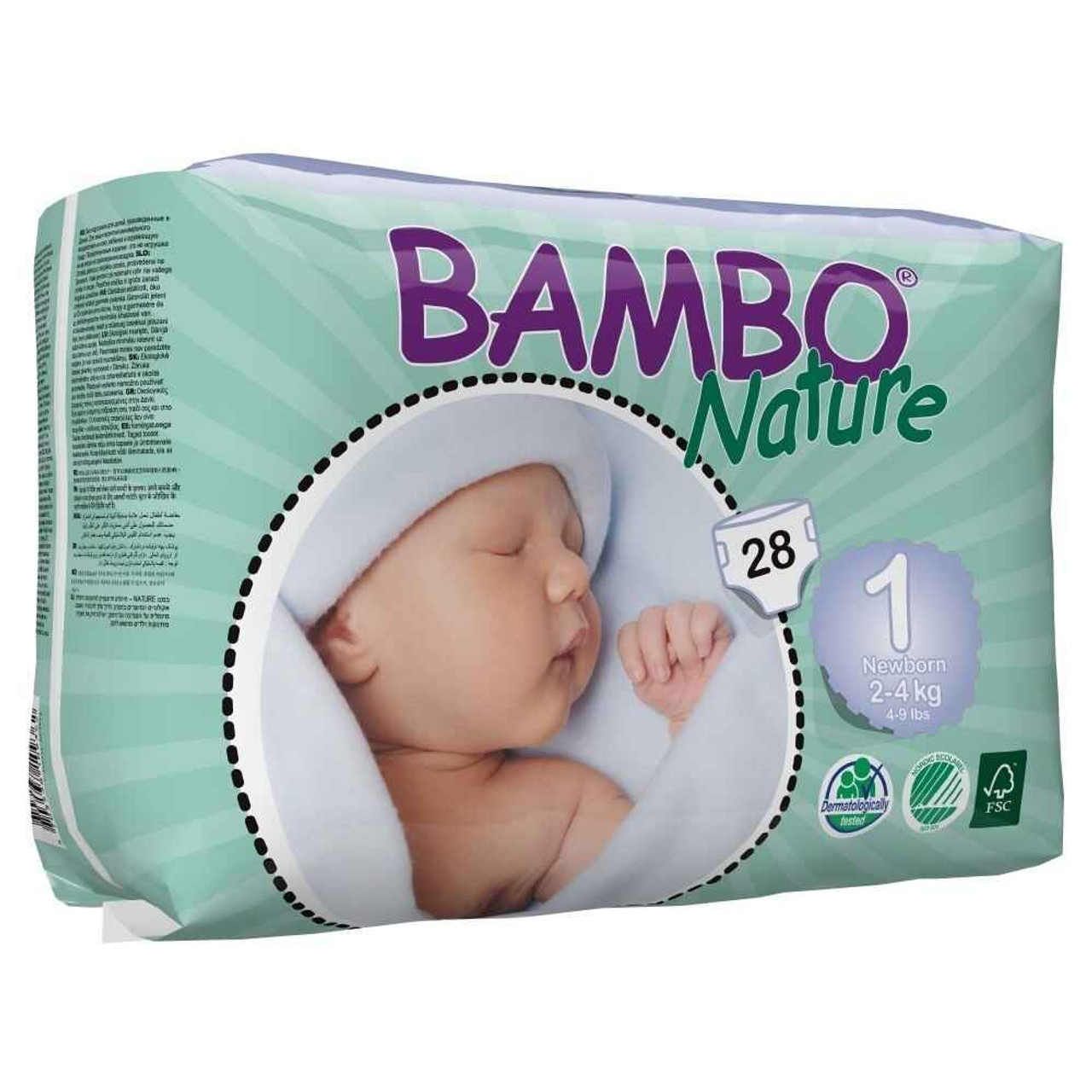 Best Bambo nature eco nappies