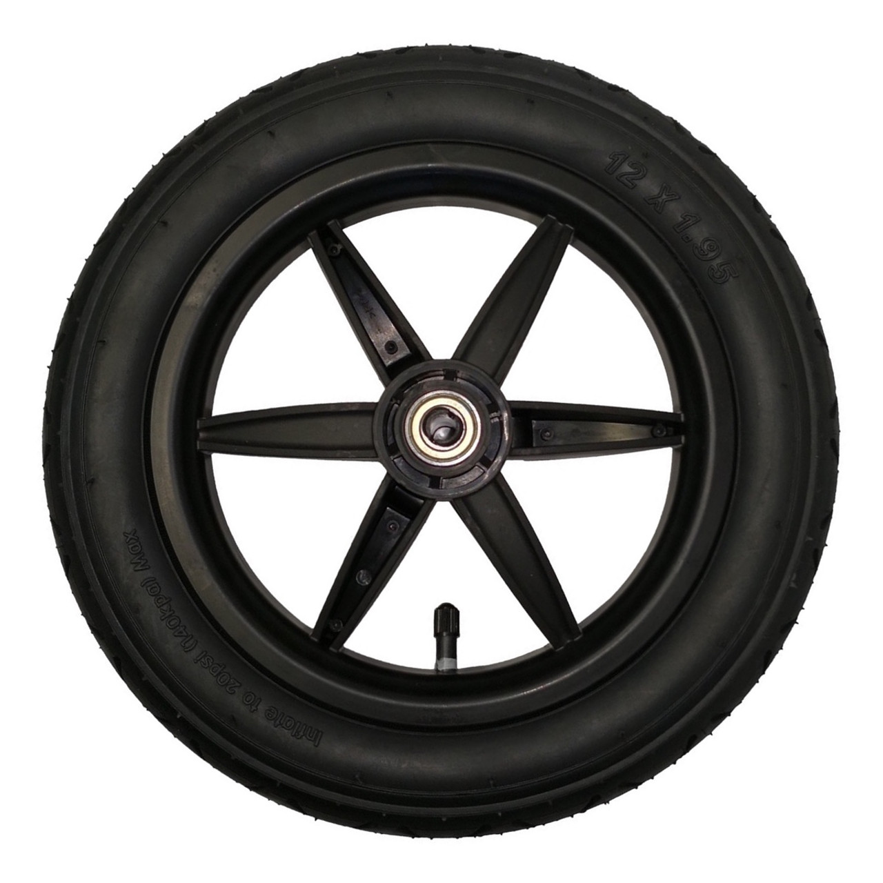 """Mountain Buggy 12"""" Complete Front Wheel"""
