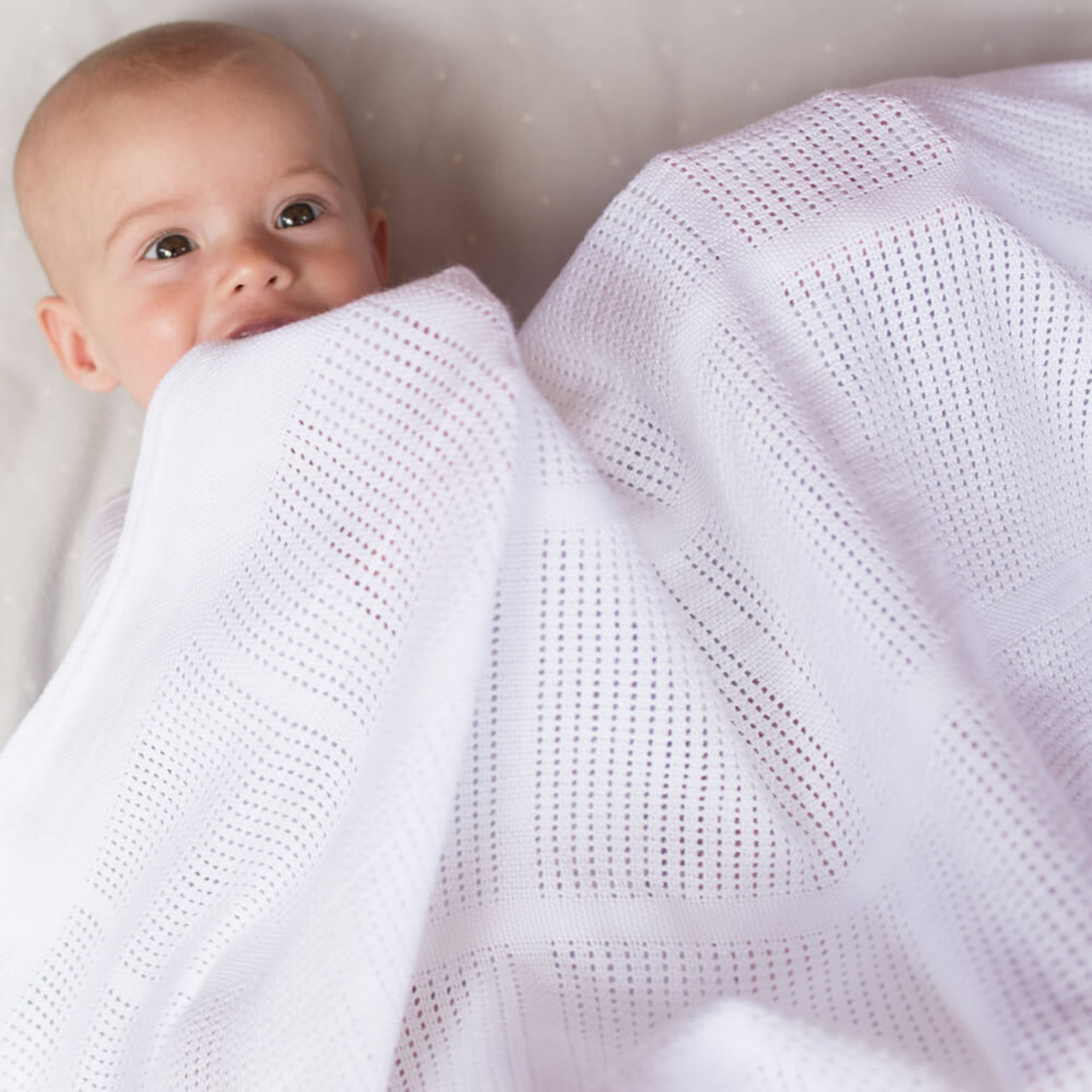 Little Bamboo Bassinet Cellular Blanket at Baby Barn Discounts Little Bamboo's silky-soft Airflow Bassinet Cellular Blanket is a baby's best friend and beautifully breathable!